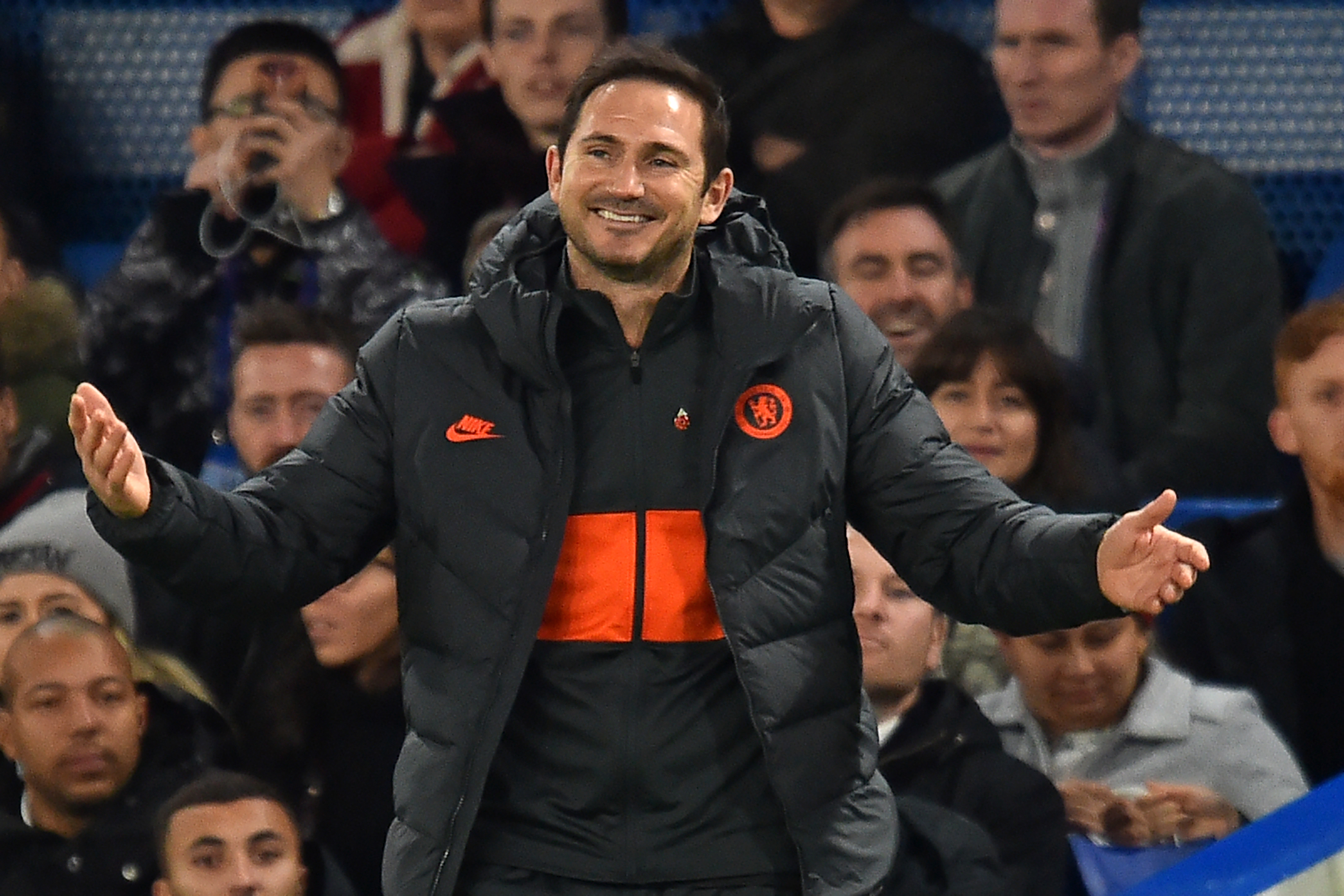 Chelsea coach Frank Lampard was left searching for an explanation after a frantic contest at Stamford Bridge.