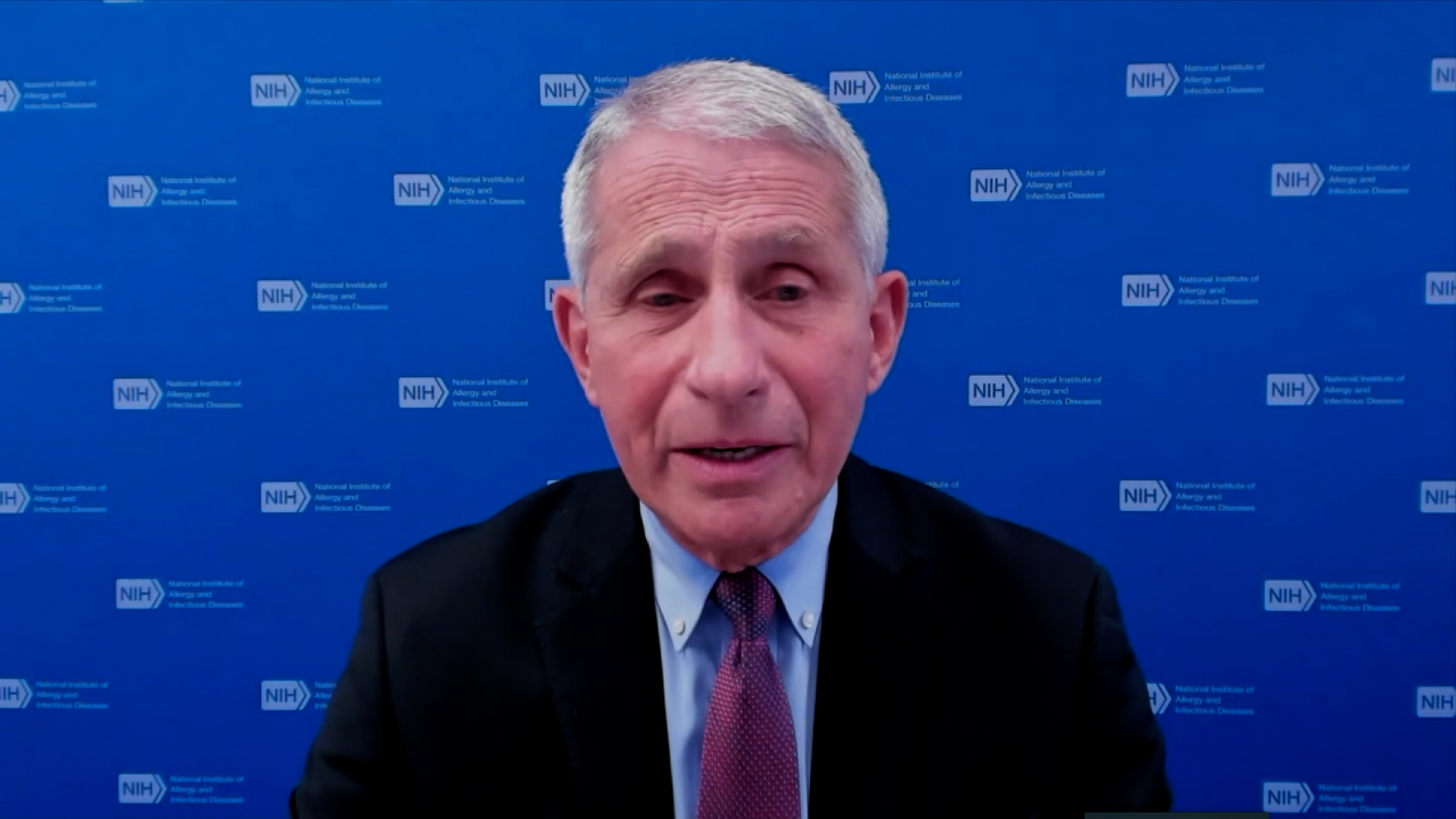Dr. Anthony Fauci, director of the National Institute of Allergy and Infectious Diseases, speaks during a White House COVID-19 Response Team briefing on March 12.