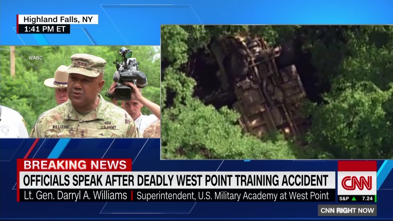 Live: West Point accident near training site - CNN