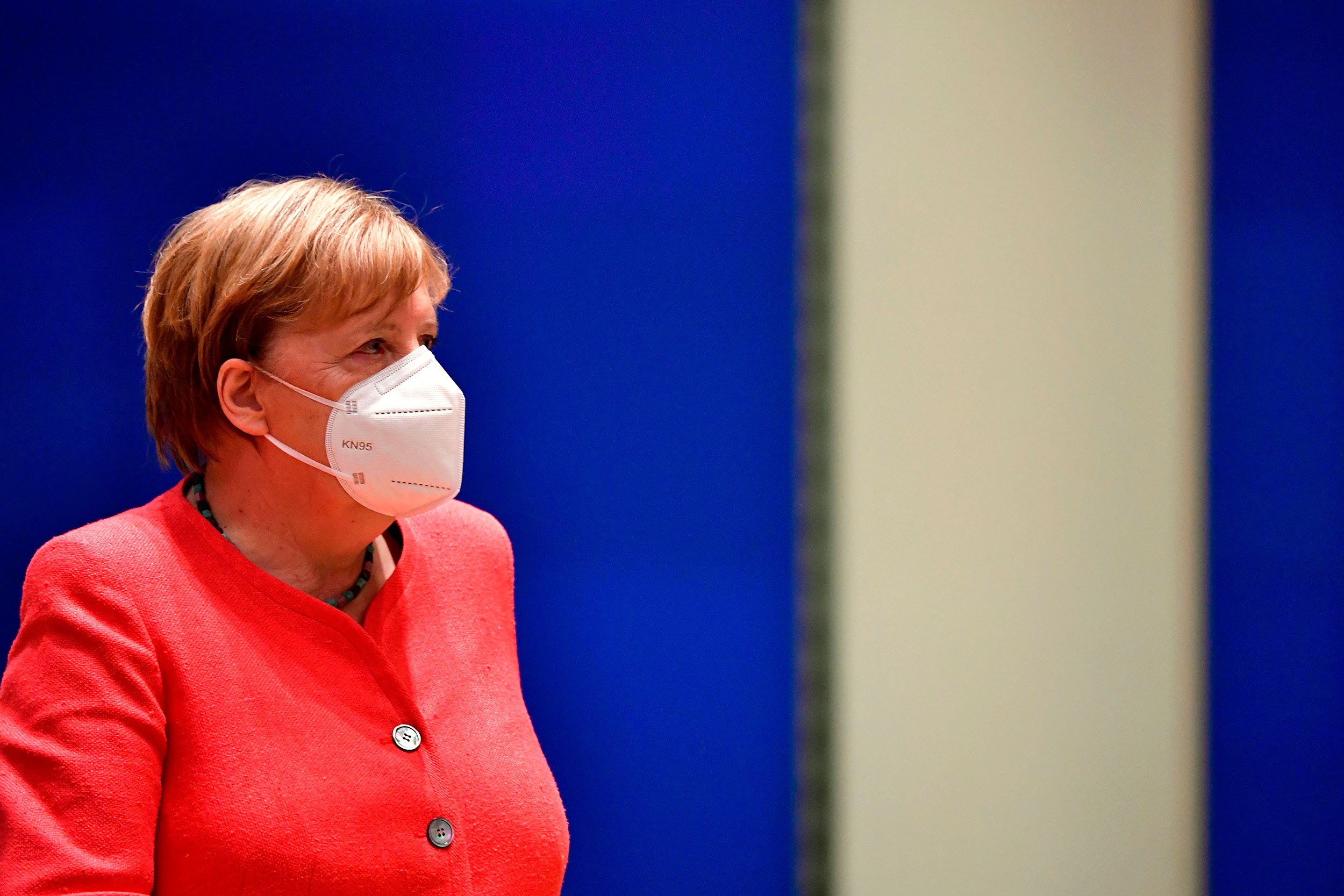 German Chancellor Angela Merkel at an EU summit in Brussels in July.