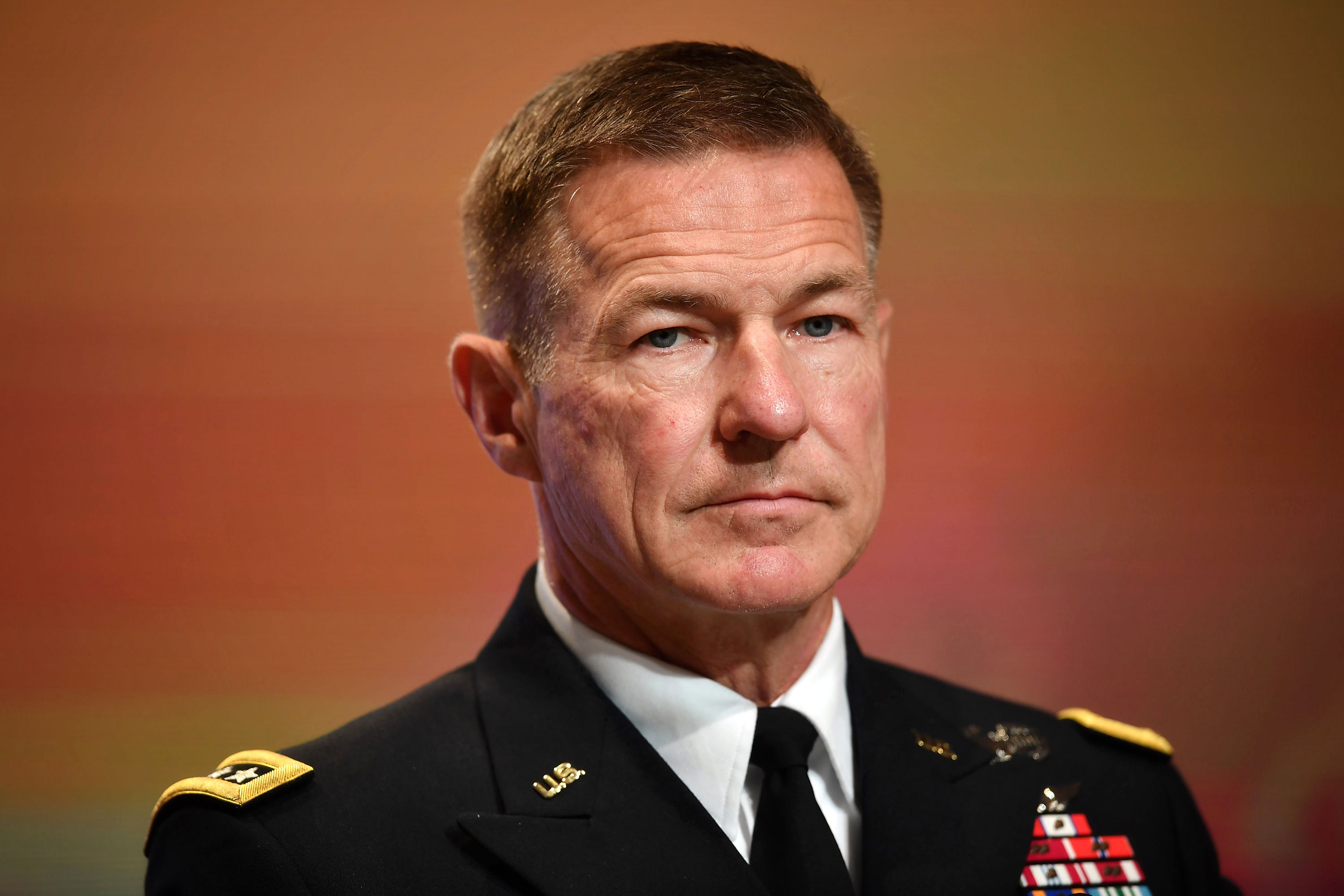 Army Chief of Staff Gen. James McConville attends the Indo-Pacific Army Chiefs Conference meeting in Bangkok on September 9, 2019.