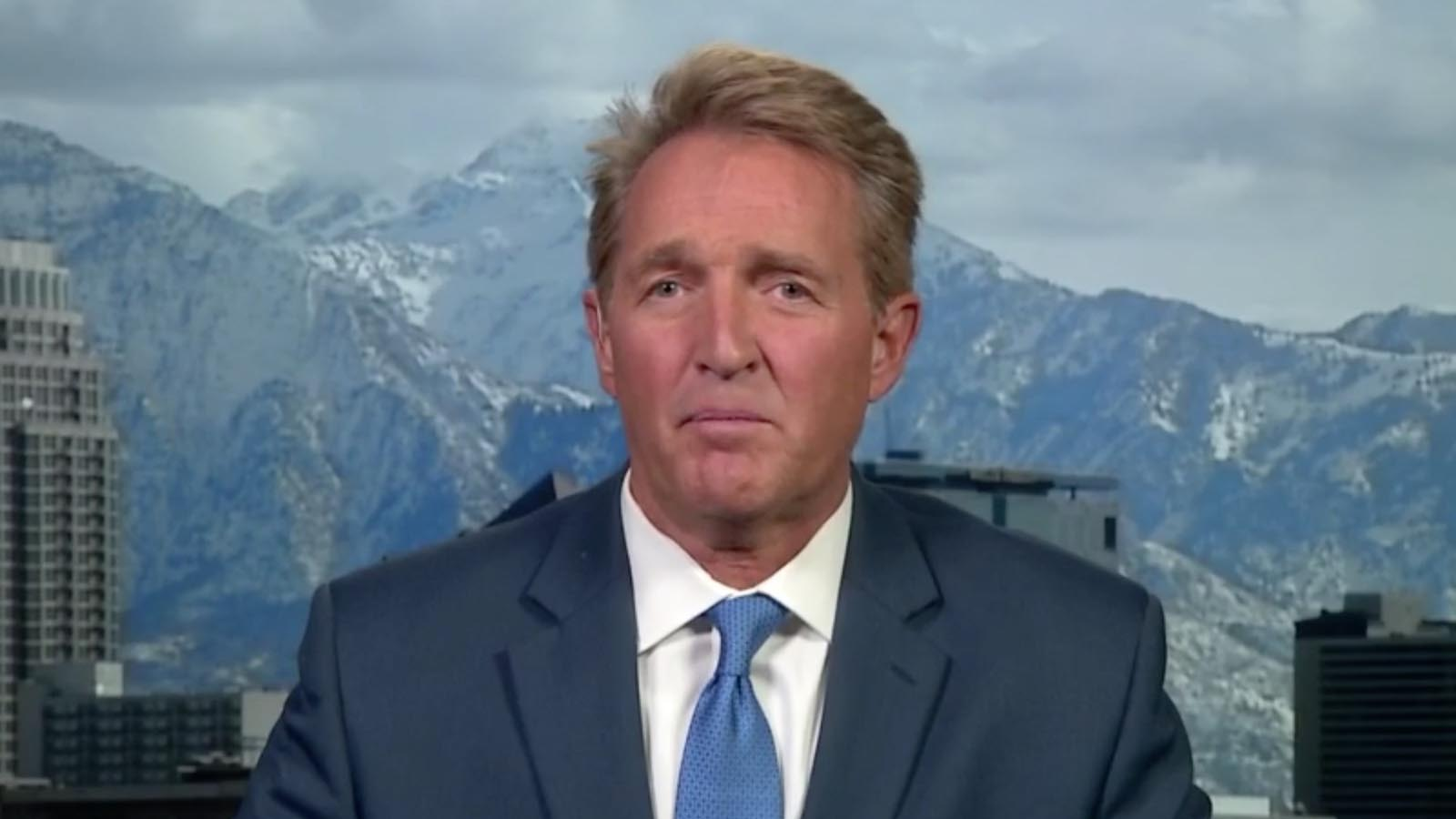 Former Republican Sen. Jeff Flake.