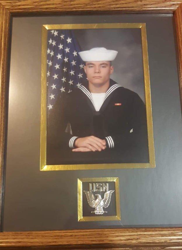 Navy Sailor Brandon Francisco.