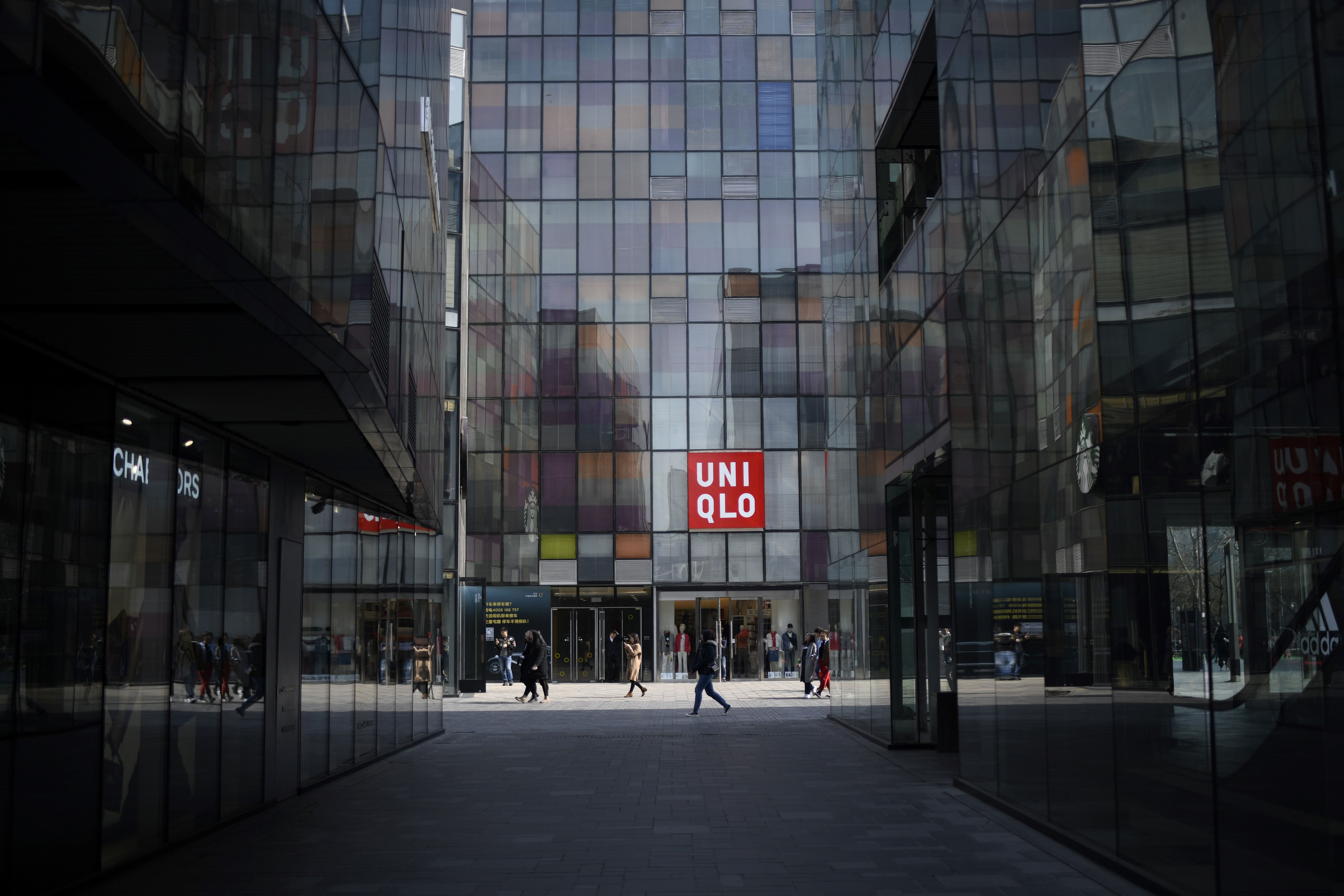 A Uniqlo store in Beijing on February 28, 2019.