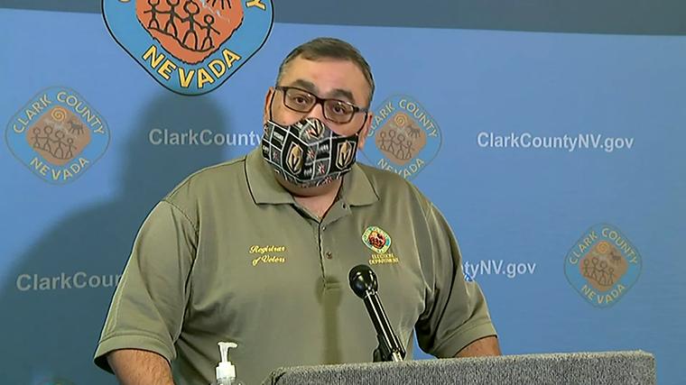 Joe Gloria, the Clark County registrar of voters