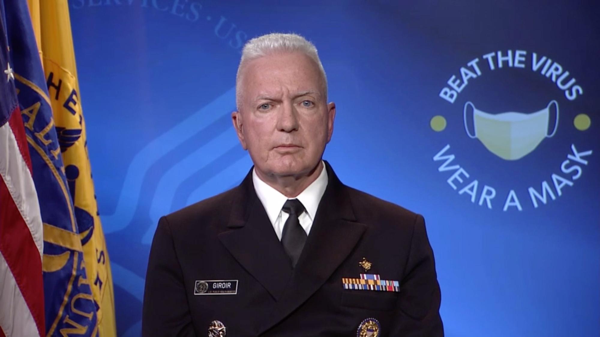 Admiral Brett Giroir.