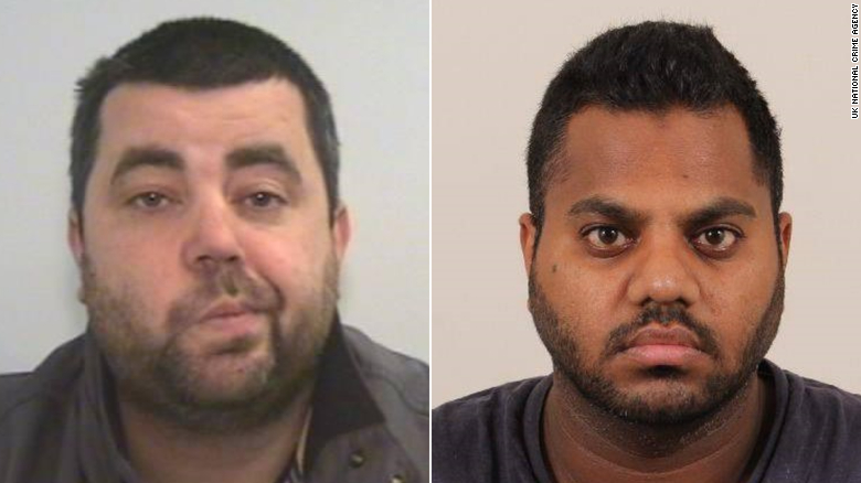 David John Walley, left, and Arshid Ali Khan are among the fugitives detained in the UK as law enforcement ramped up efforts during the pandemic.