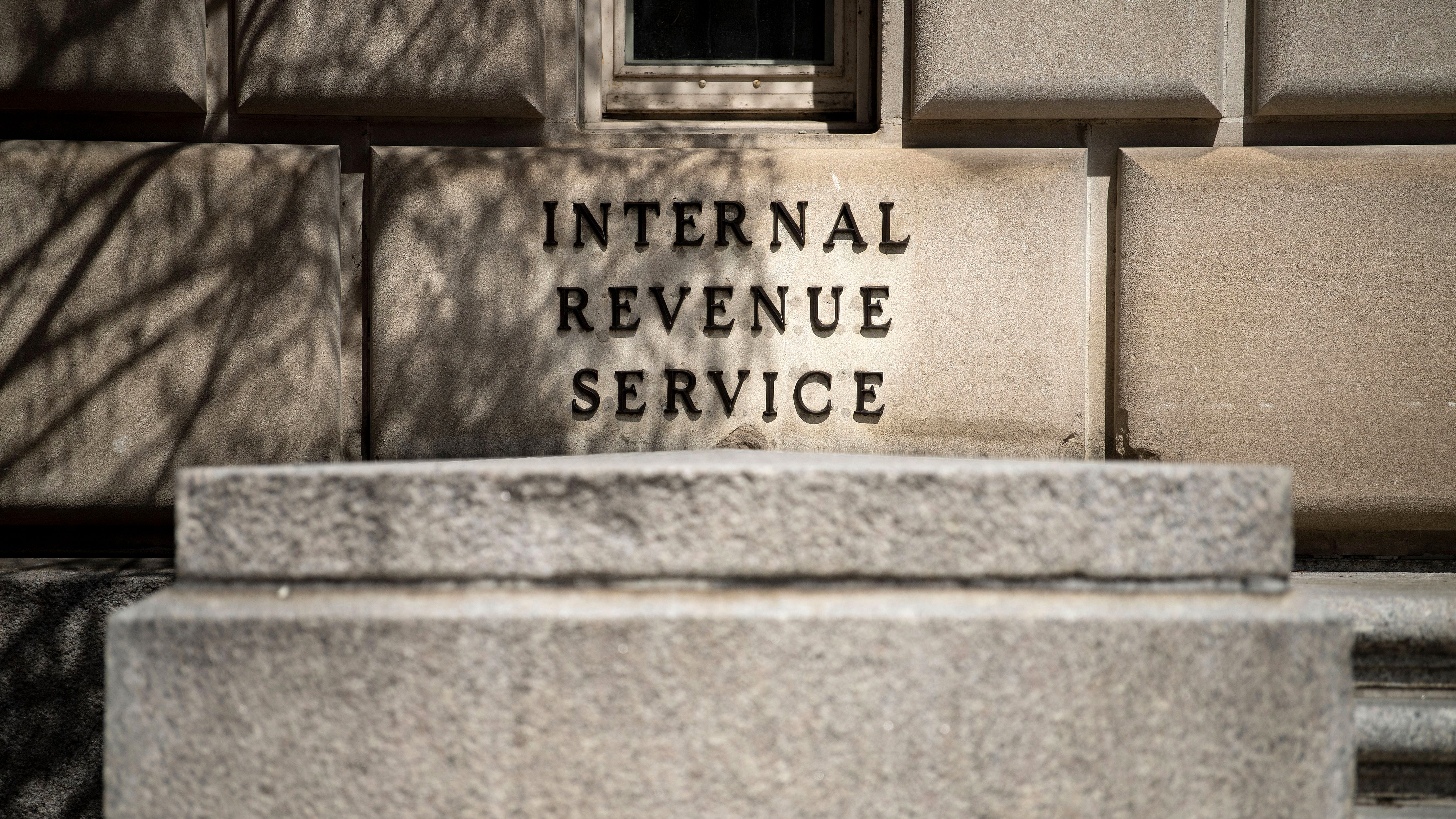 The Internal Revenue Service building in Washington on March 27, 2019.