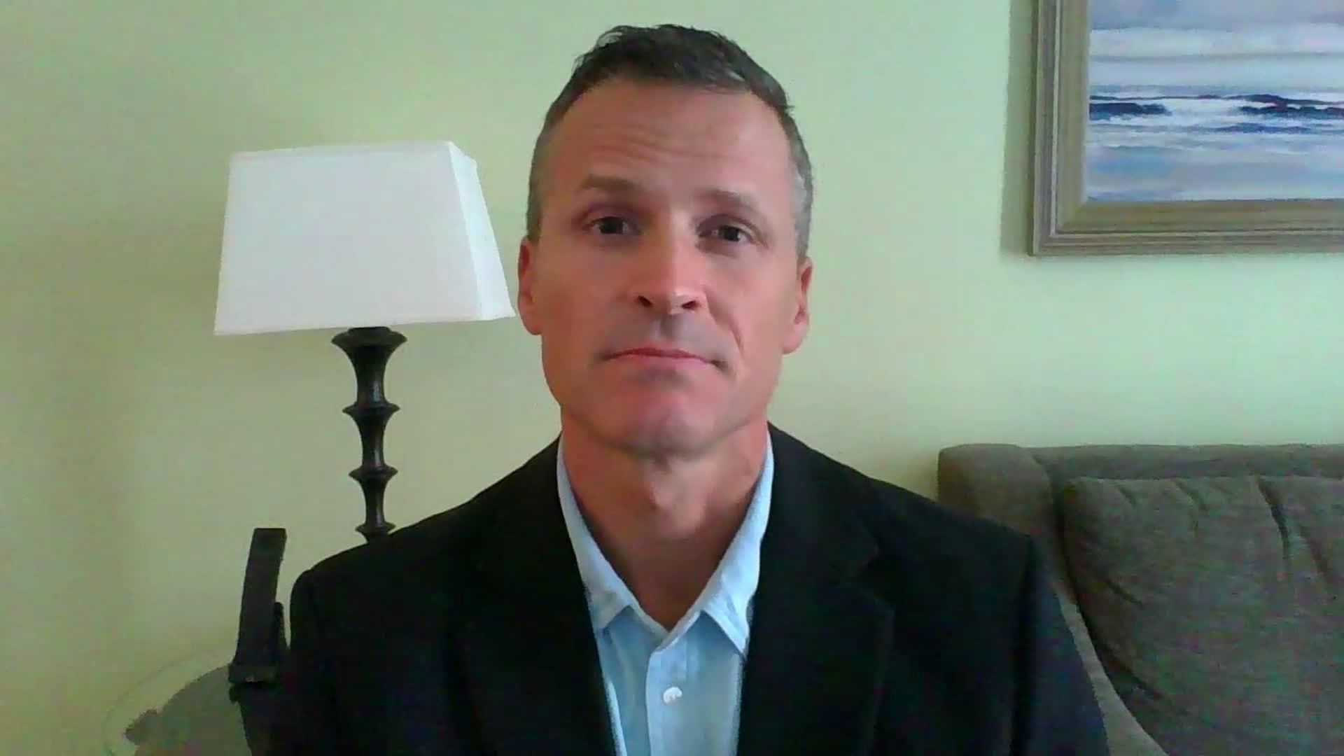 """Sioux Falls Mayor Paul TenHaken on CNN's """"Newsroom"""" on September 29."""