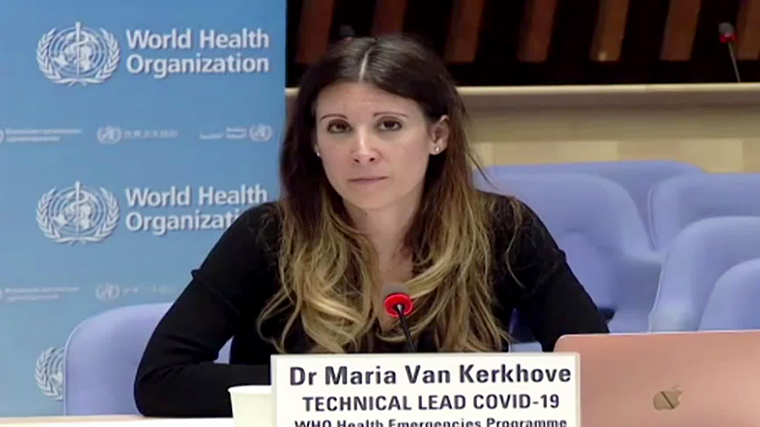 Dr. Maria Van Kerkhove, the World Health Organization technical lead on Covid-19