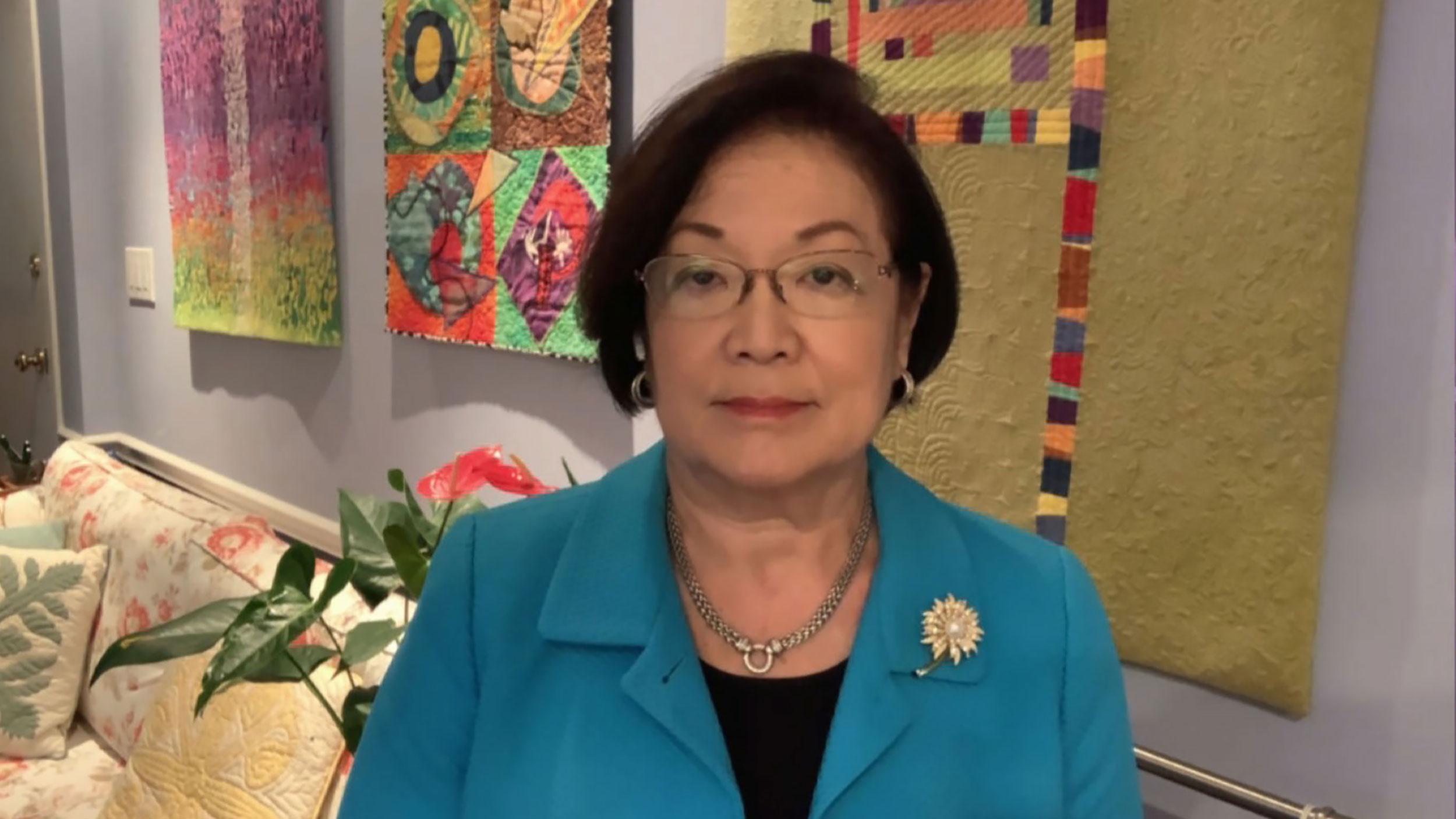 Democratic Sen. Mazie Hirono.