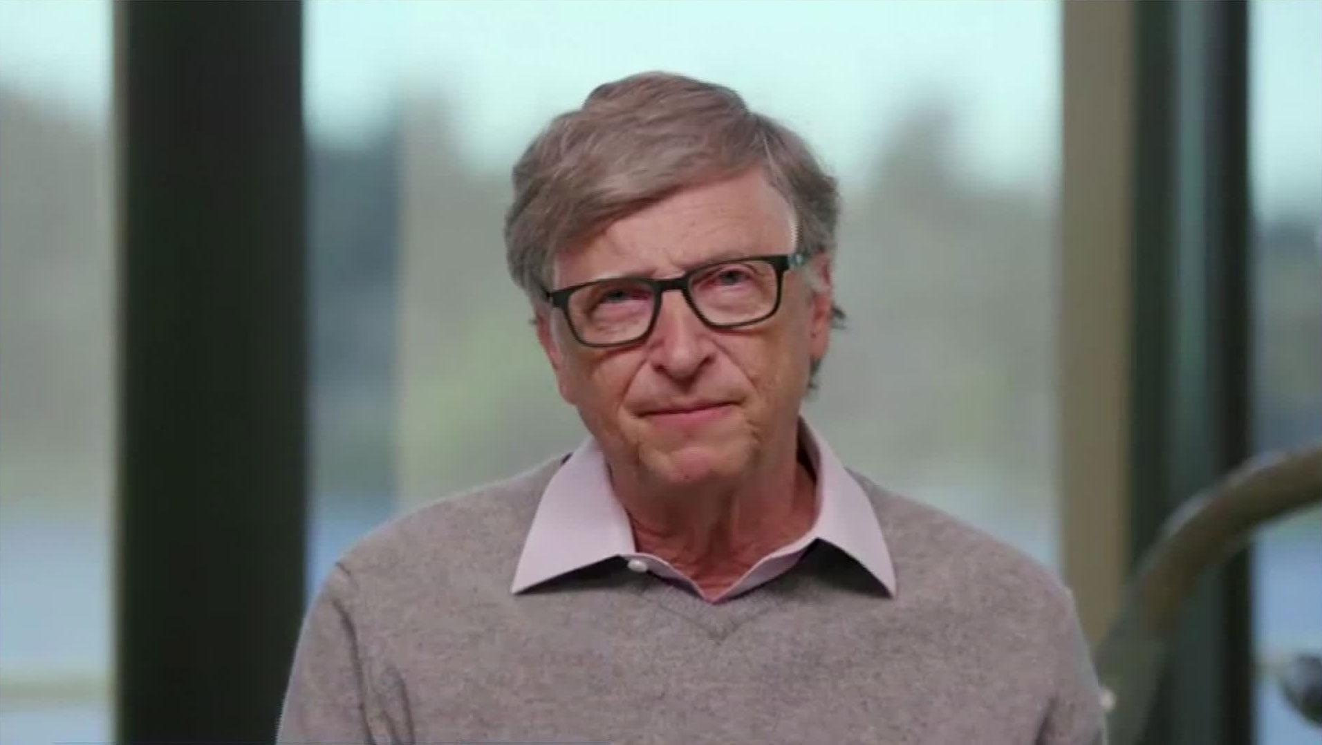 BillGates speaks at a World Health Organization briefing on September 30.