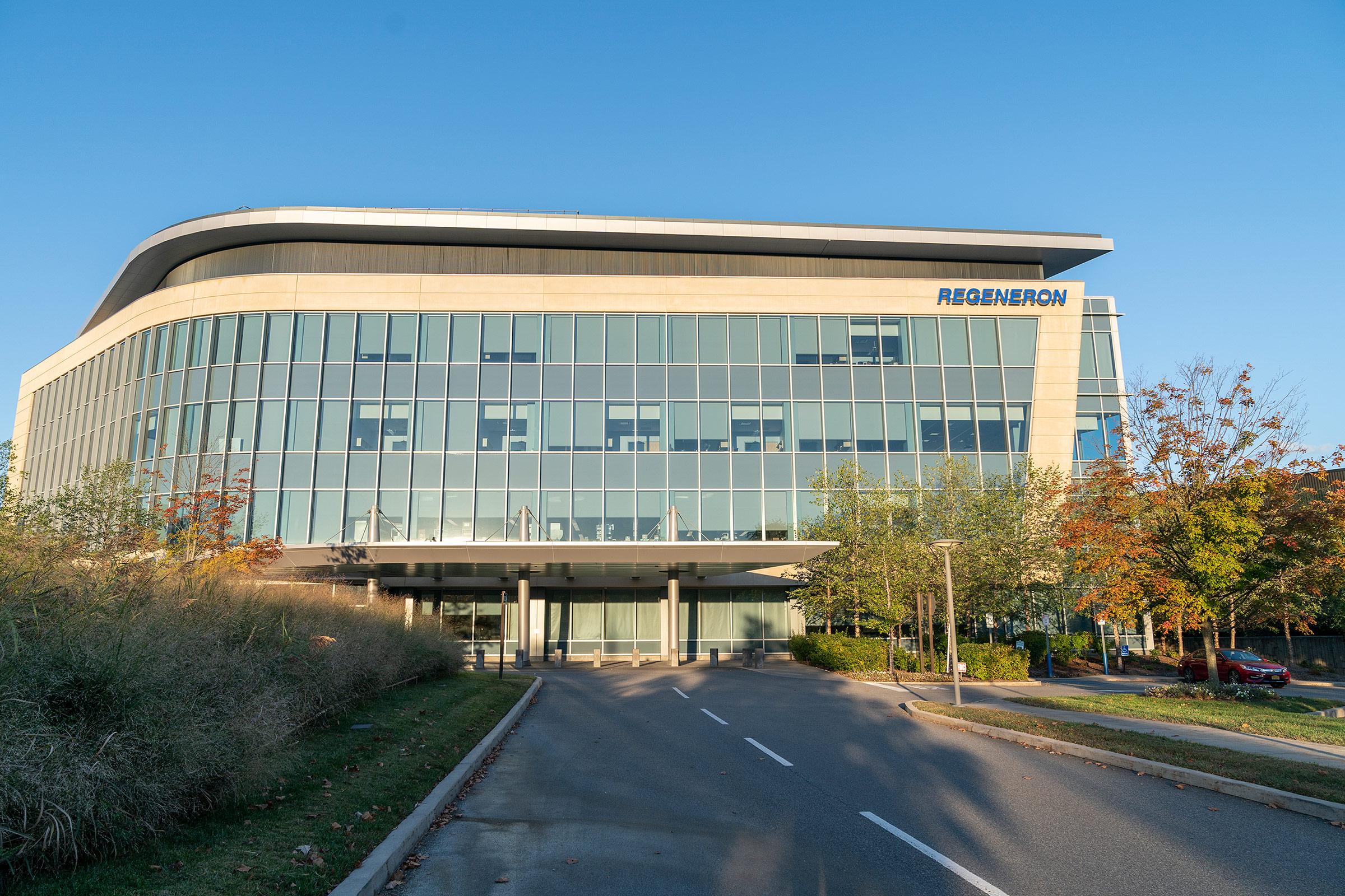 Regeneron Pharmaceuticals Inc headquarters in Tarrytown, New York.