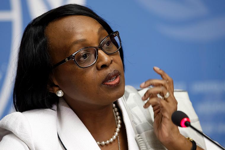 Dr. Matshidiso Moeti, the WHO Regional Director for Africa.