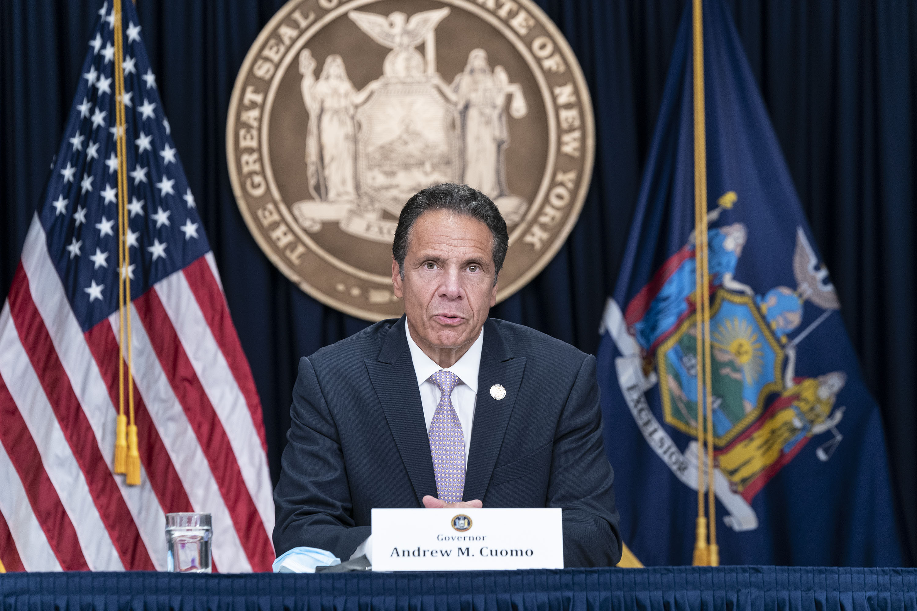 56 The New York Governor Is Traveling To Georgia To Help With Coronavirus Response