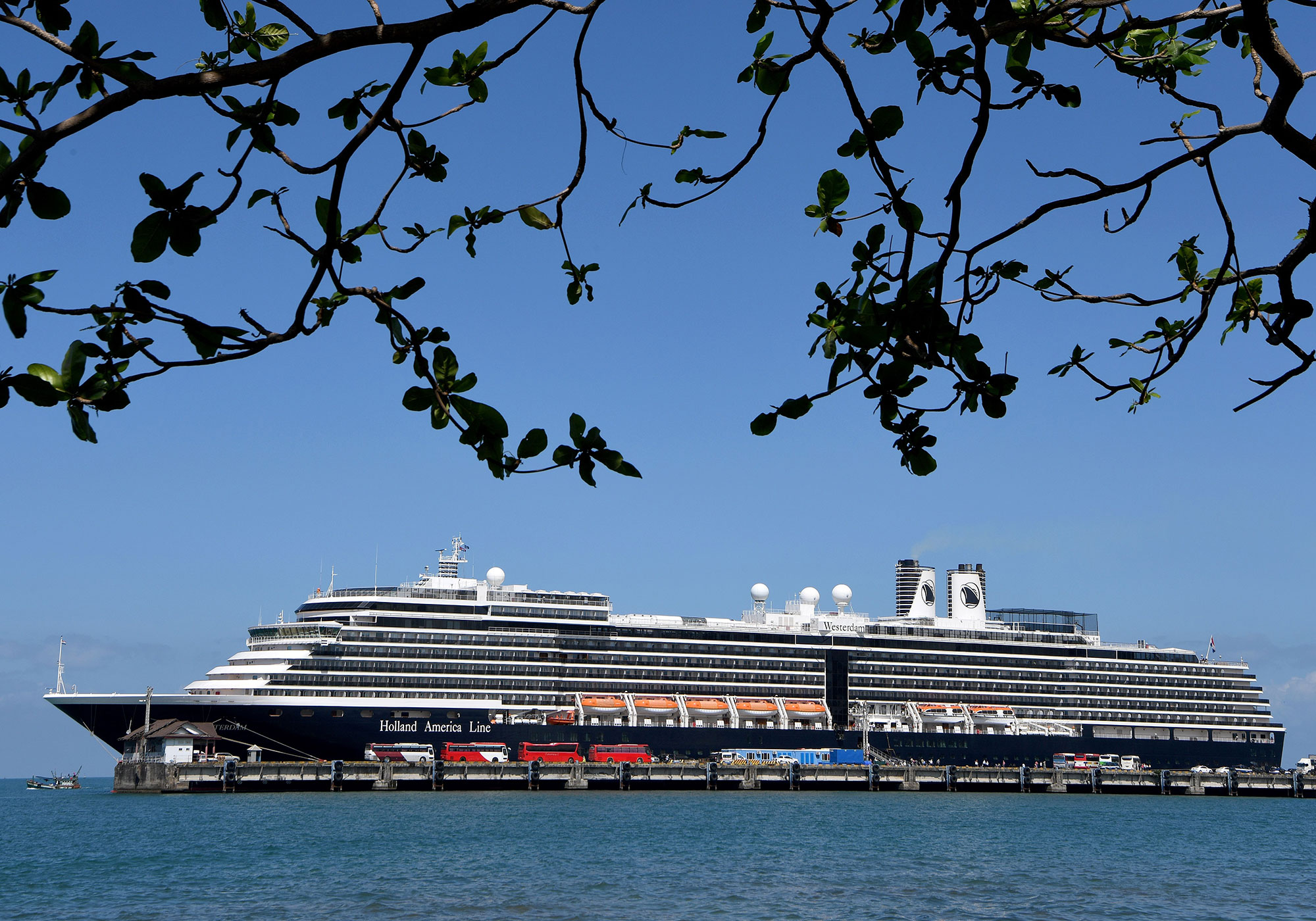 Several ports refused to allow the MS Westerdam to dock before passengers finally were allowed to disembark in Cambodia.