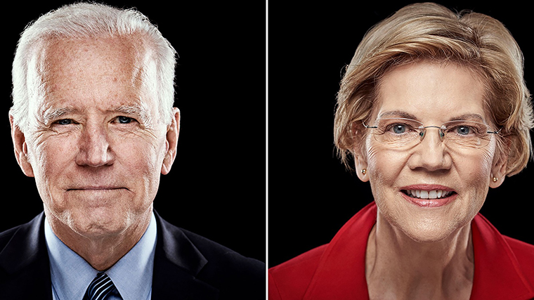 Coverage of the Nevada Democratic town hall with Biden and Warren - CNNPolitics