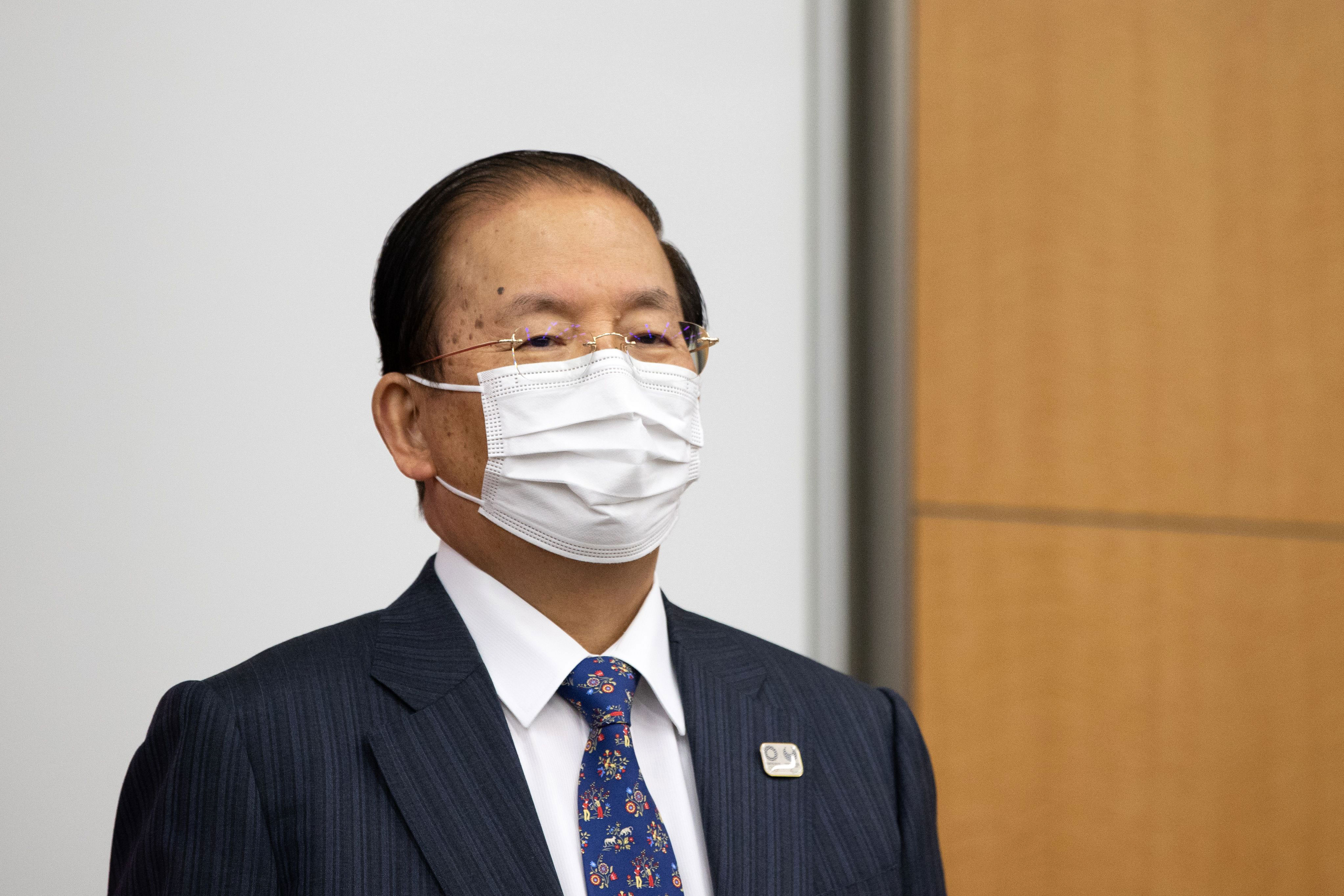 Tokyo 2020 CEO Toshiro Muto speaks to the media in the Japanese capital on January 28.