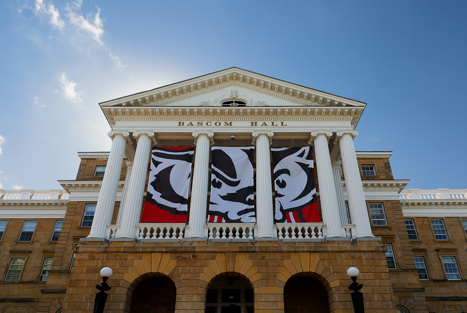 Bascom Hall on the campus of the University of Wisconsin–Madison on July 12, 2017.