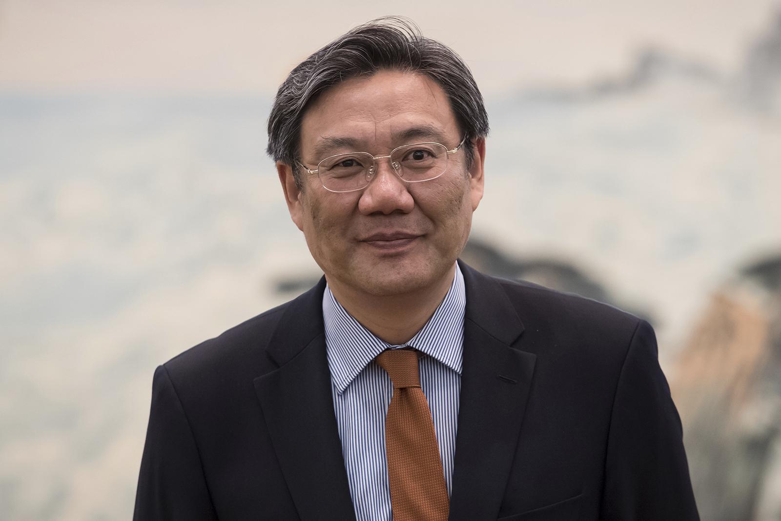 Wang Zhonglin in Jinan, China, on May 11, 2017.