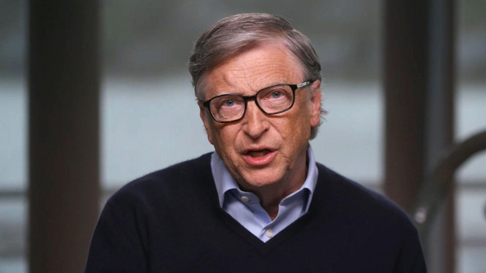 Microsoft co-founder and philanthropist Bill Gates.