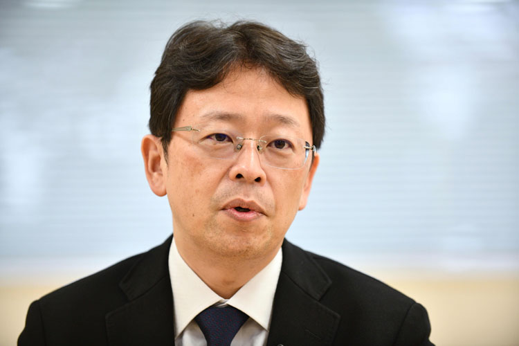 Norio Ohmagari, an infectious disease specialist, on February 26 in Tokyo.