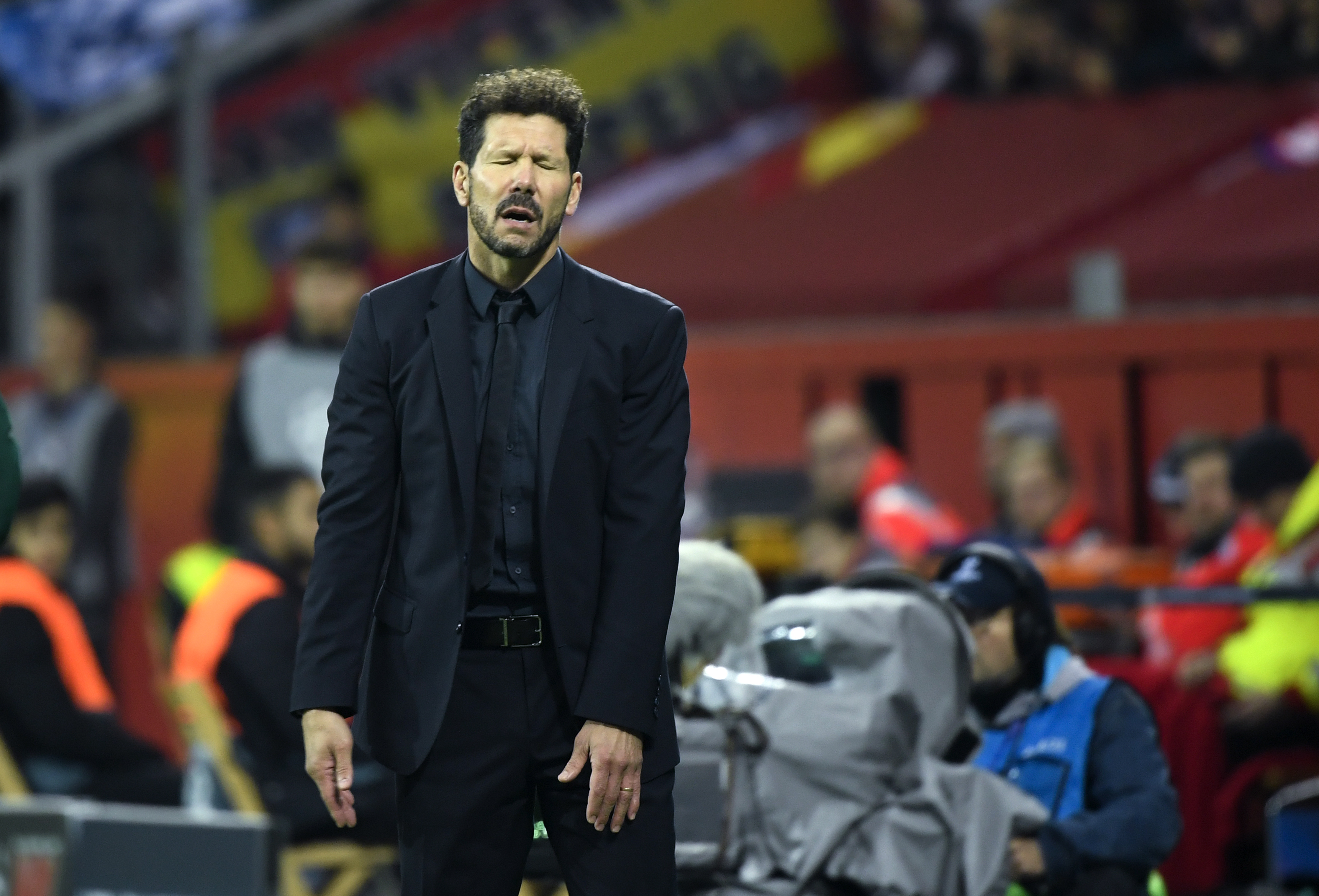 Diego Simeone was far from pleased with what he saw from Atletico.