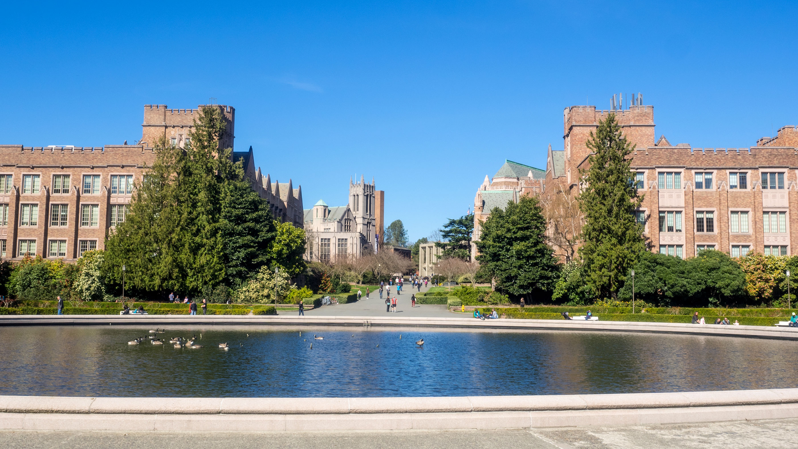 University of Washington campus in Seattle, Washington.