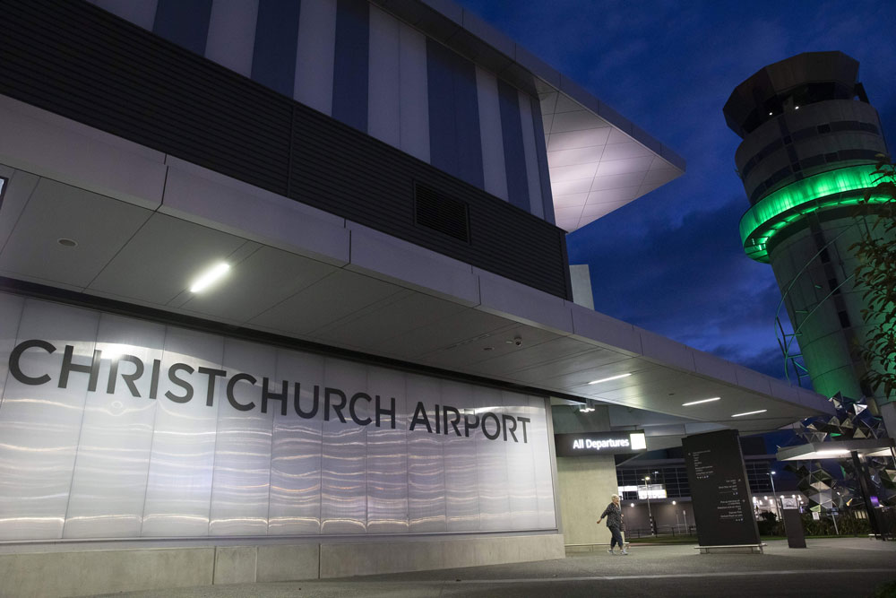 A quiet area of Christchurch Airport is pictured during the coronavirus lockdown in Christchurch on April 8.