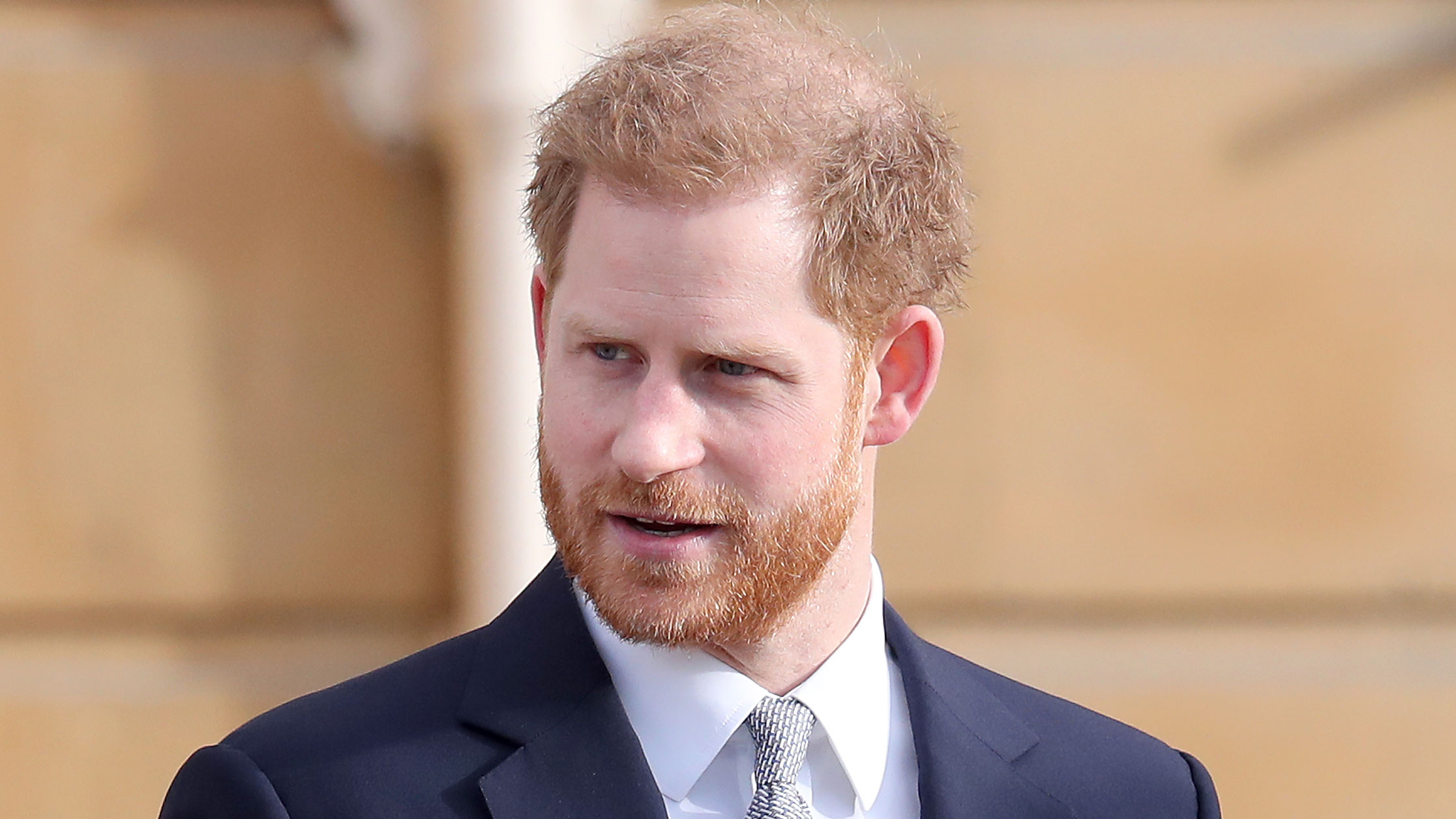 Prince Harry at Buckingham Palace in London on January 16, 2020.