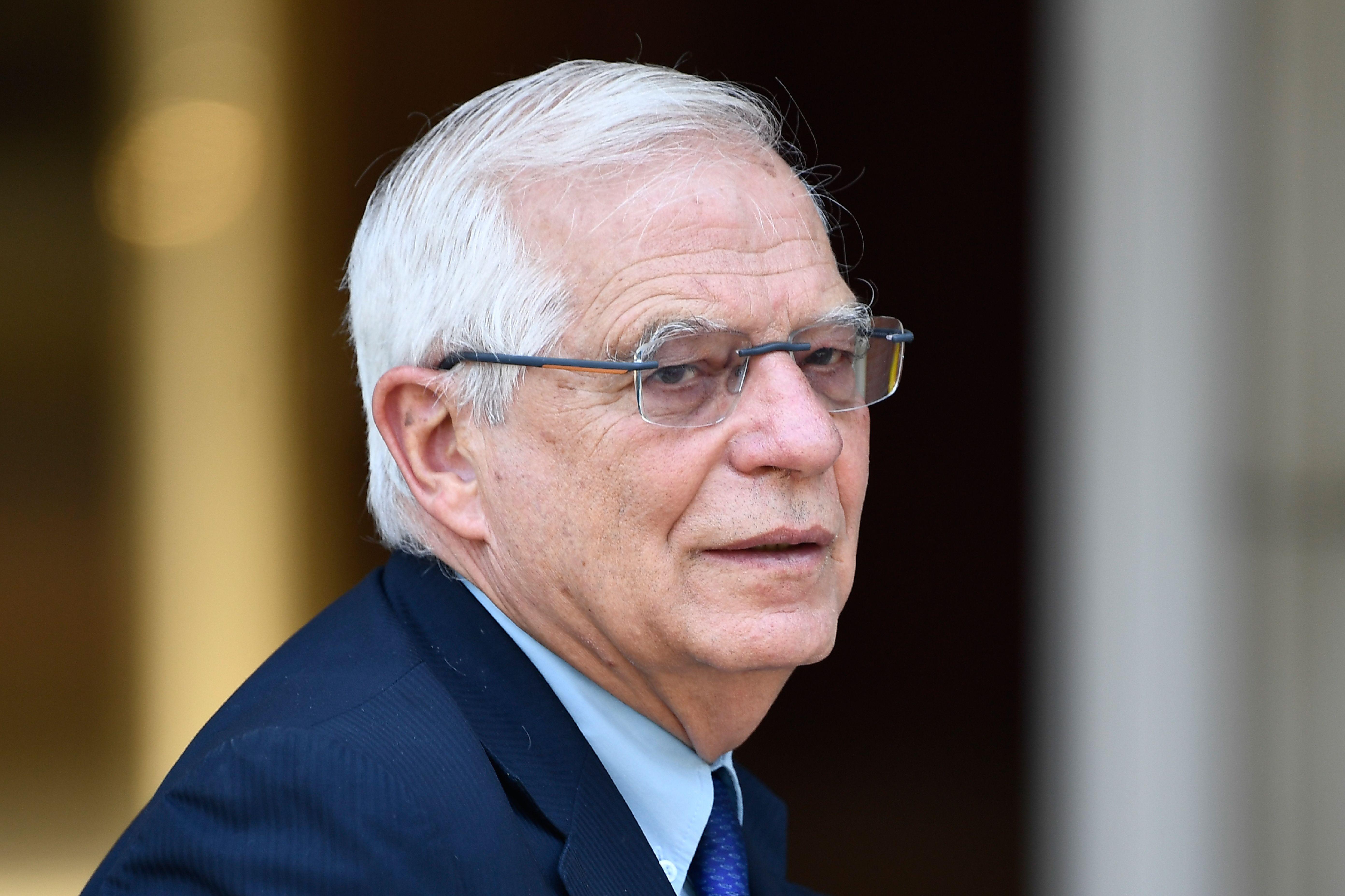 File photo of Josep Borrell.