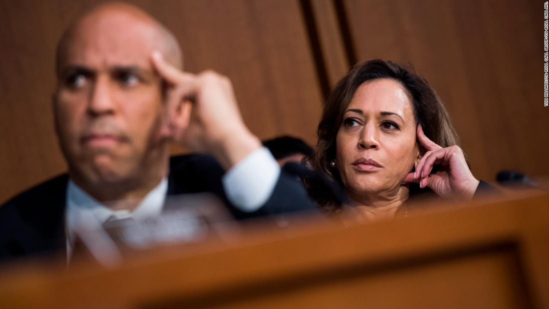 Sens. Cory Booker and Kamala Harris will both visit southern states this weekend.