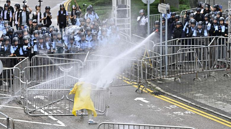 Hong Kong protest cancels student trips, says P.E.I.-born teacher