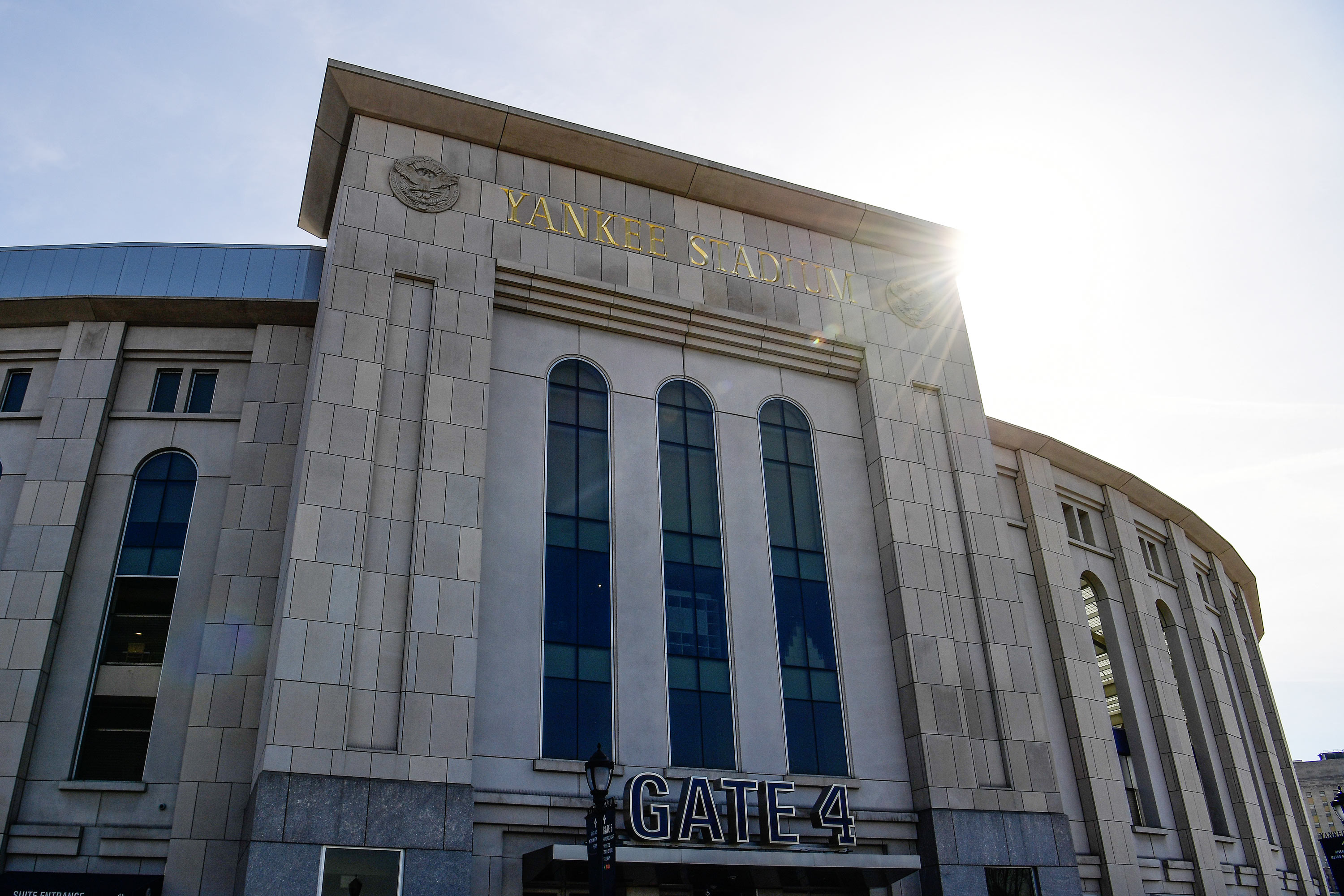 Yankee Stadium is seen on March 28, 2019 in New York City.