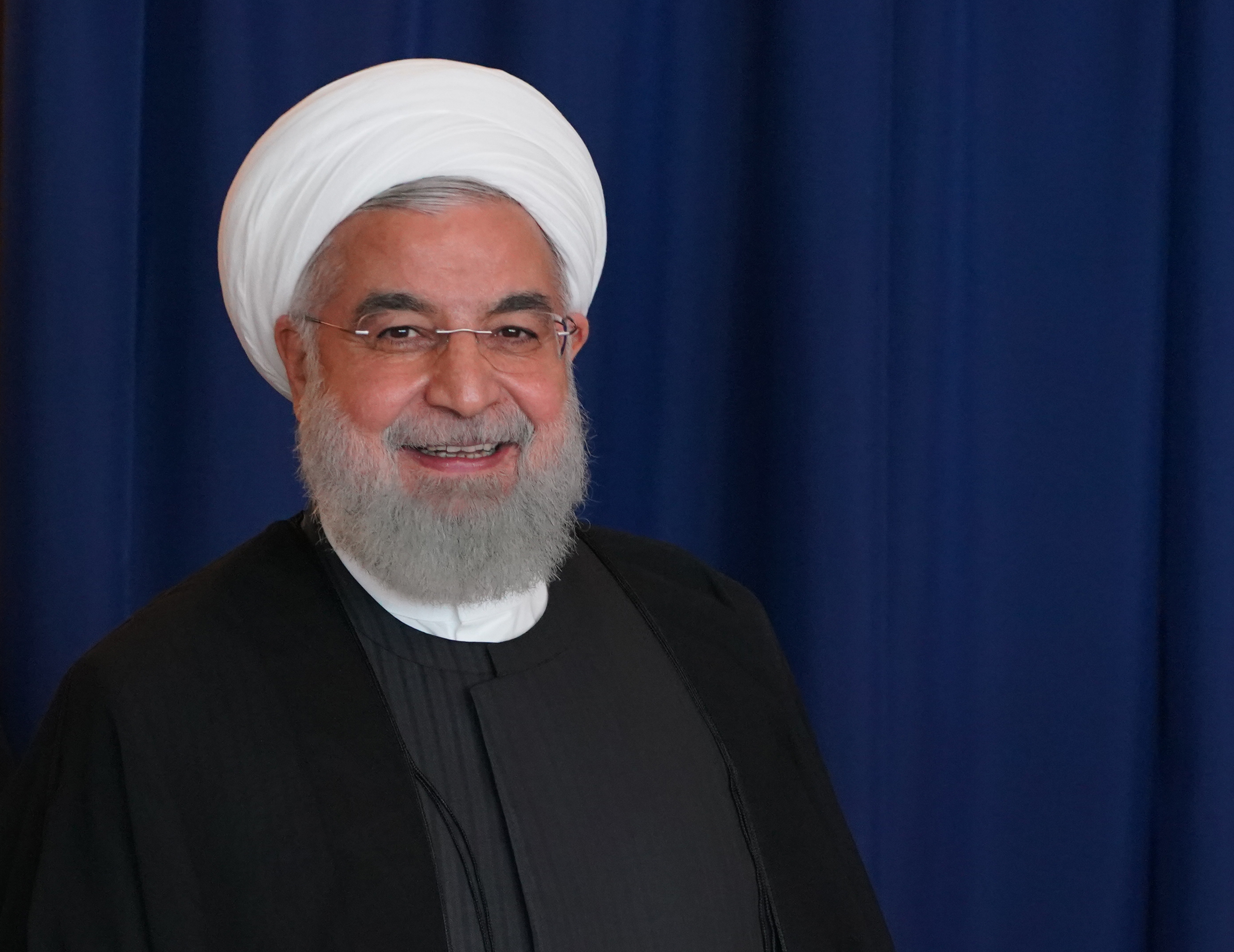 Iranian President Hassan Rouhani on September 26, 2018.