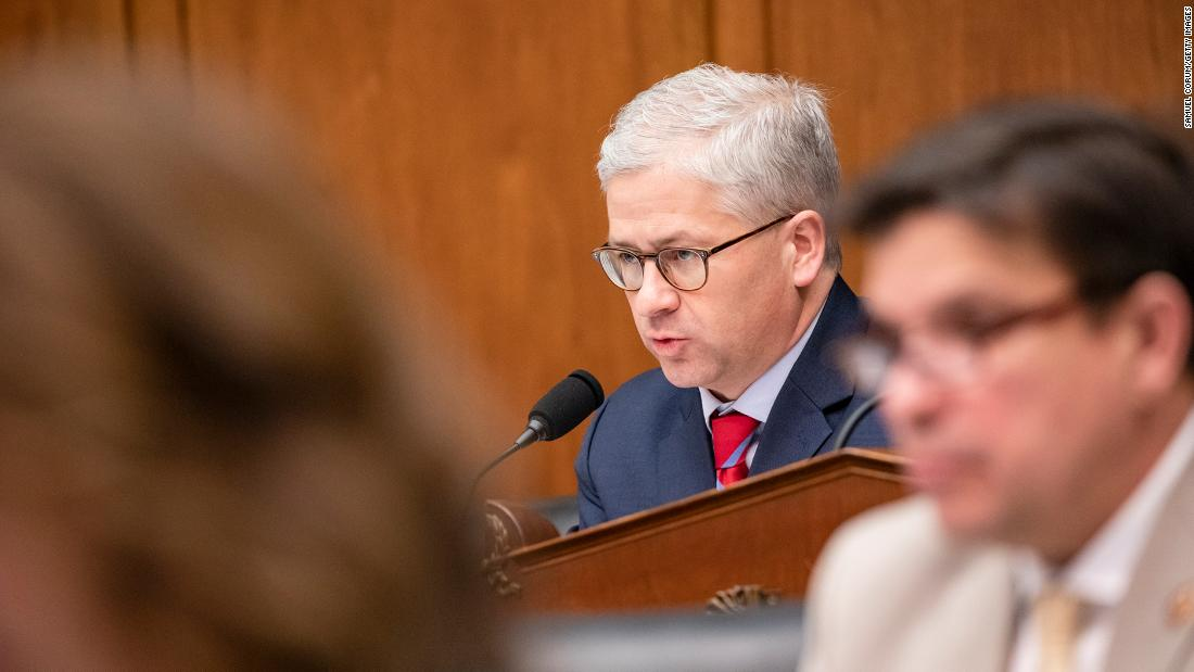 Rep. Patrick McHenry (R-NC) during a House Financial Services Committee hearing on Capitol Hill on March 11, 2020 in Washington, DC.