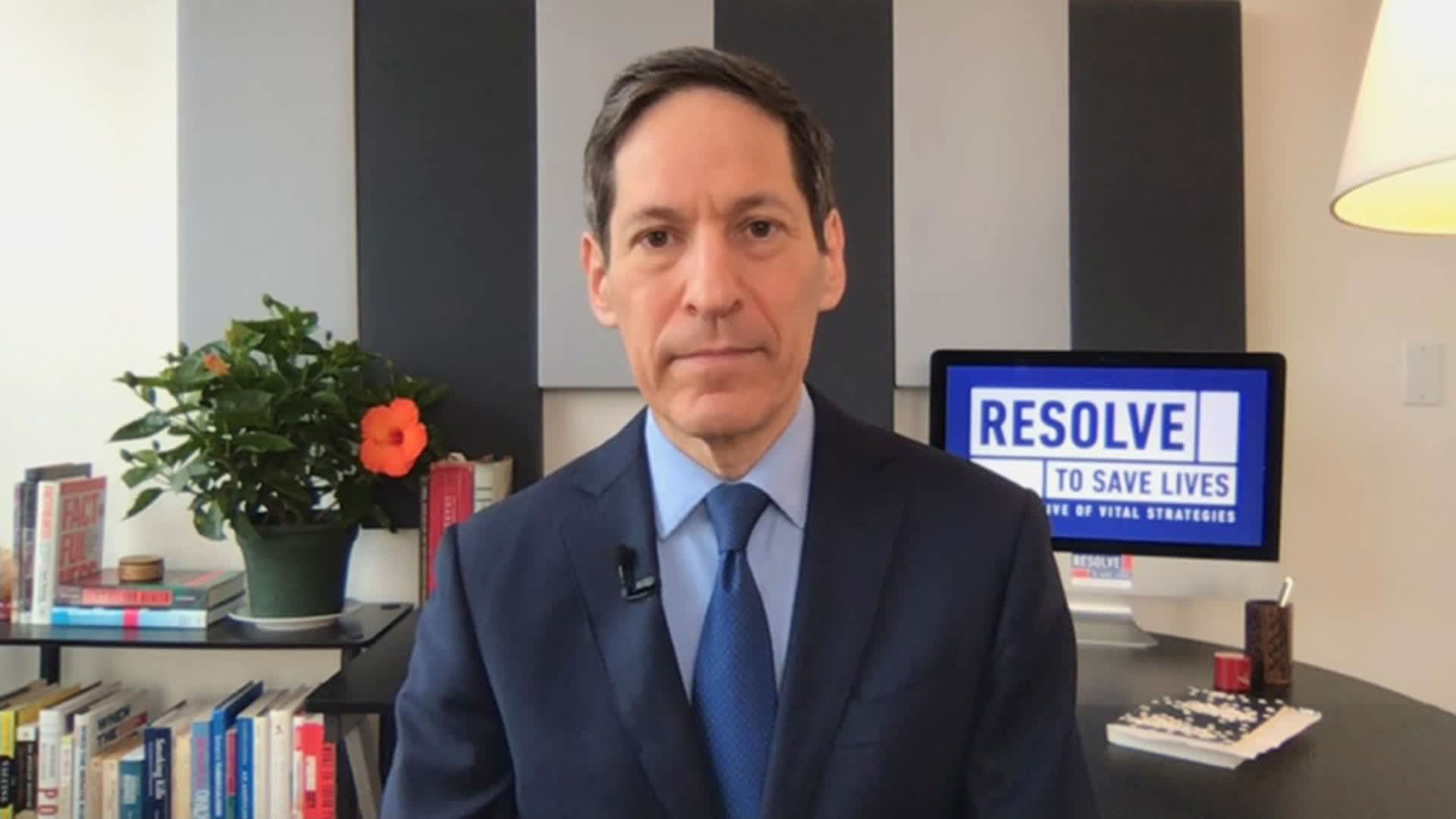 Dr. Tom Frieden speaks with CNN's Wolf Blitzer on Wednesday, September 16.