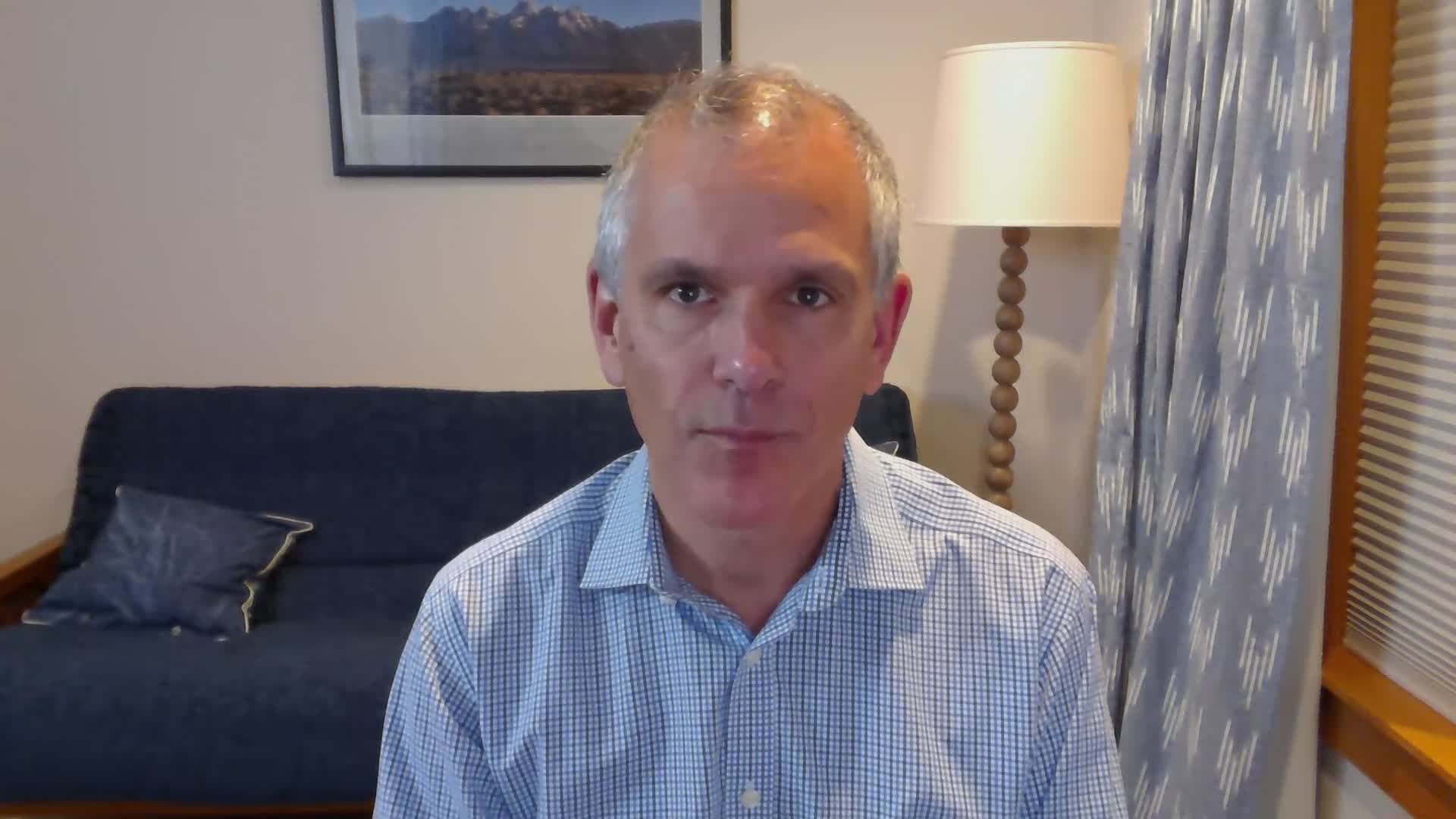 IHME director Dr. Christopher Murray.