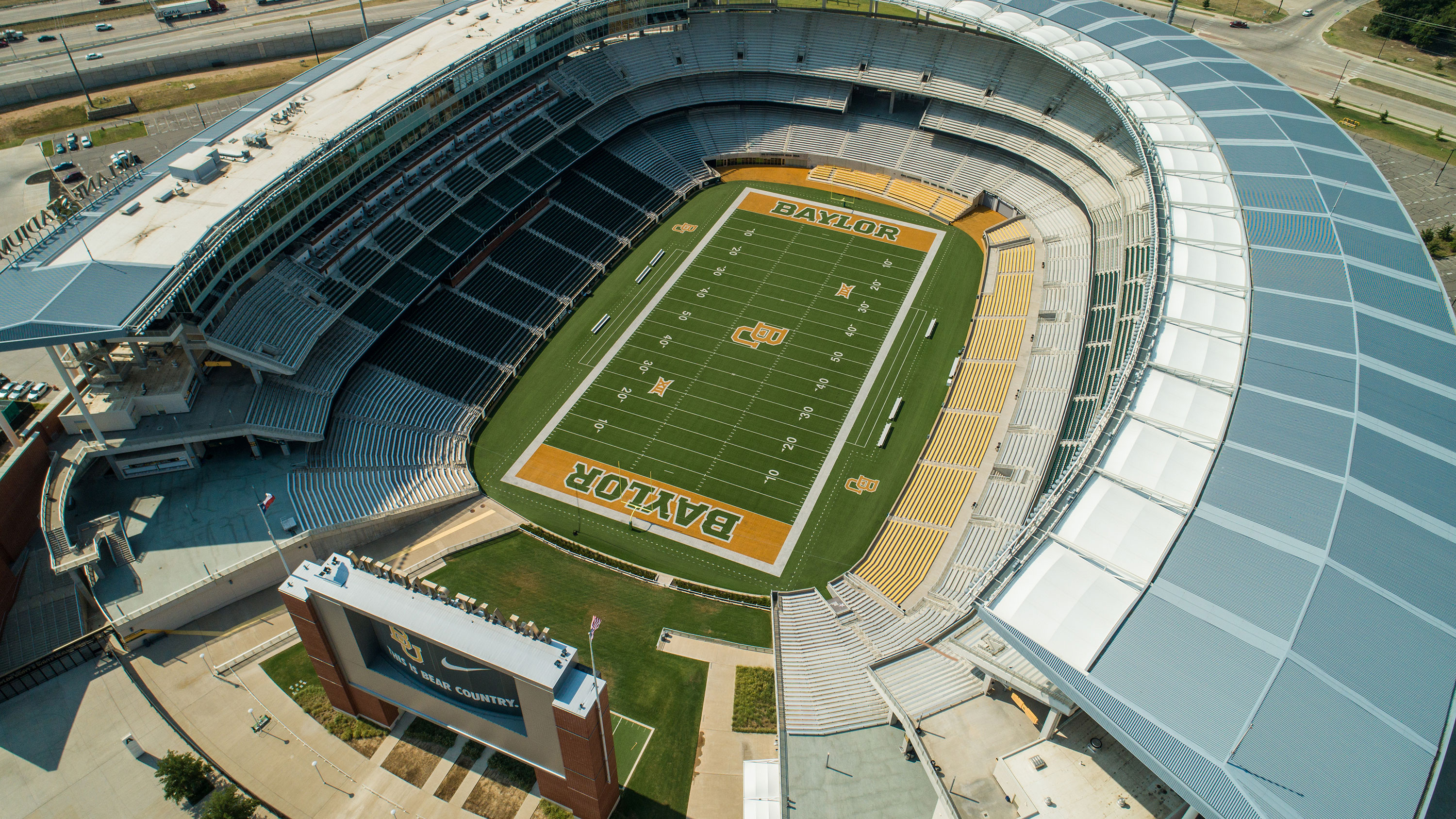 McLane Stadium at Baylor University in Waco, Texas