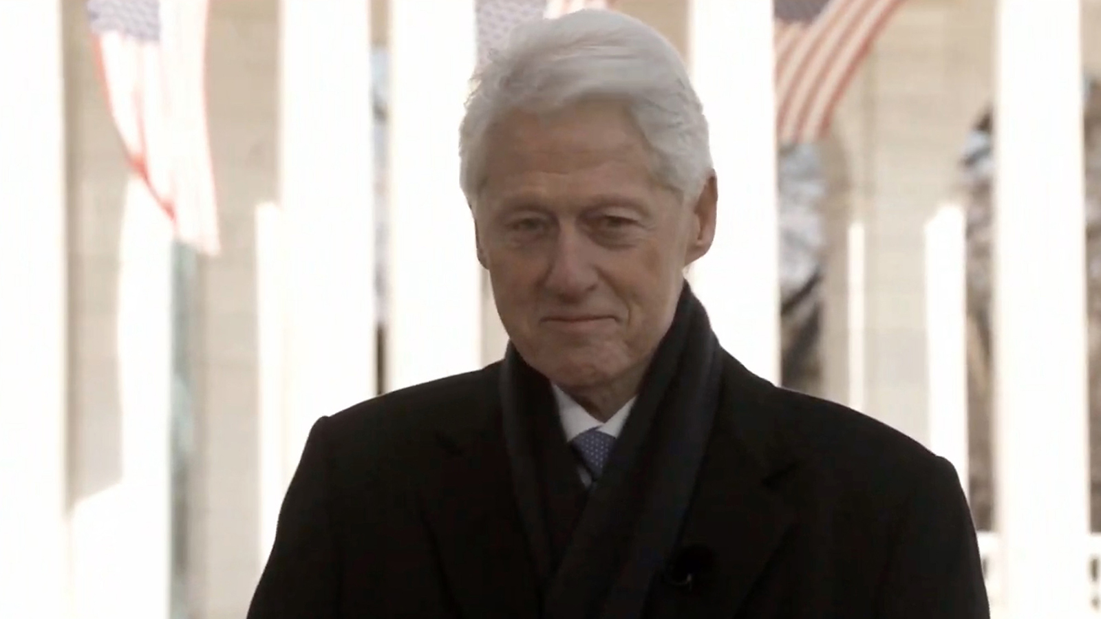 In this screengrab, former President Bill Clinton speaks during the Celebrating America Primetime Special on January 20.