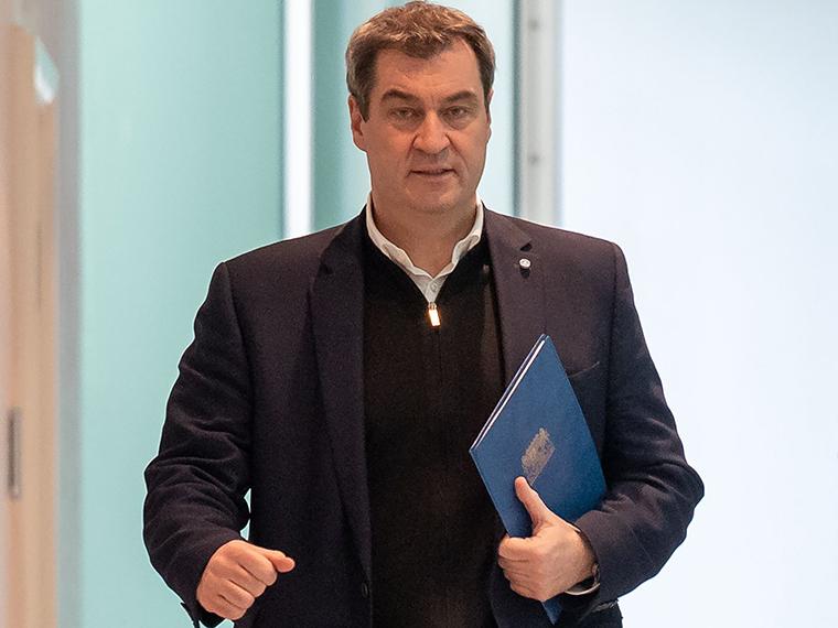 Bavarian Prime Minister Markus Soeder
