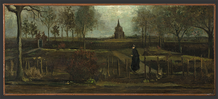 "Vincent van Gogh's ""The Parsonage Garden at Nuenen in Spring"""