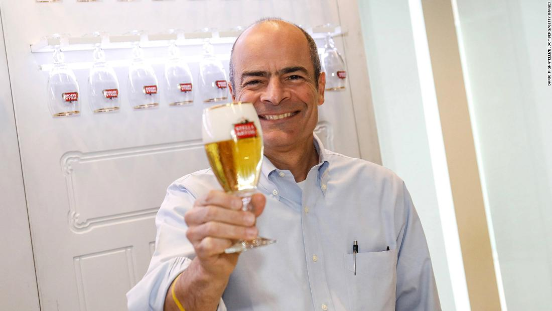 Carlos Brito is stepping down after 15 years as CEO.