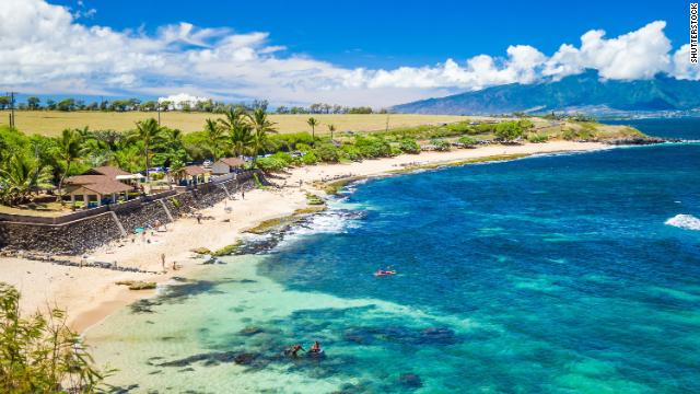 Ho'okipa Beach Park in Maui, Hawaii