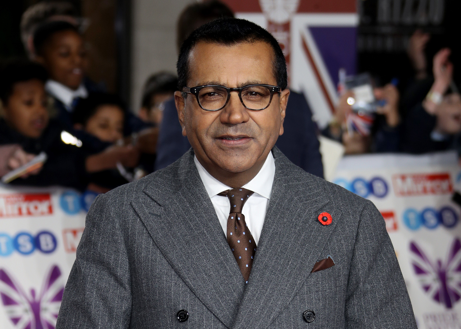 Martin Bashir arriving for the Pride of Britain Awards held at the The Grosvenor House Hotel, London, on October 28, 2019.