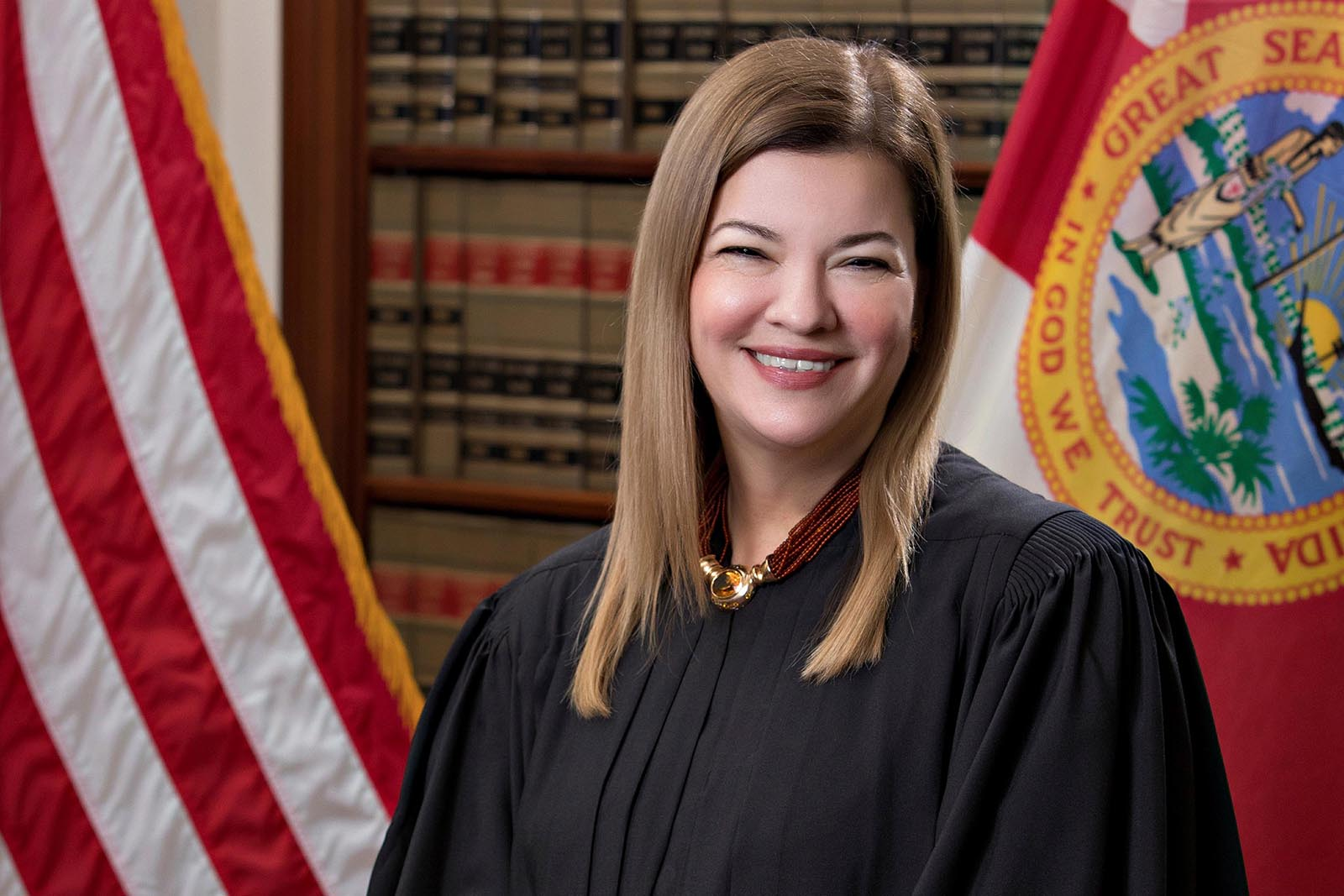 U.S. Circuit Judge Barbara Lagoa, of the United States Court of Appeals for the Eleventh Circuit, is shown in this official undated photo released by the Florida Supreme Court.