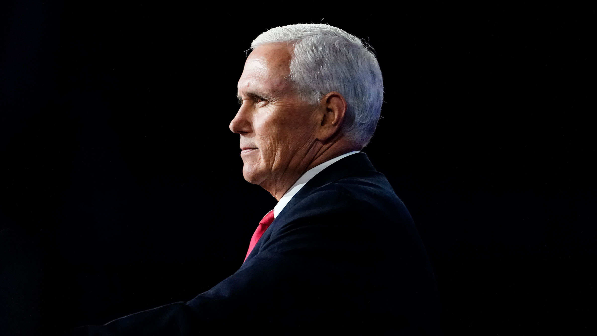 Vice President Mike Pence speaks during a Faith and Freedom Coalition policy conference on September 30 in Atlanta.