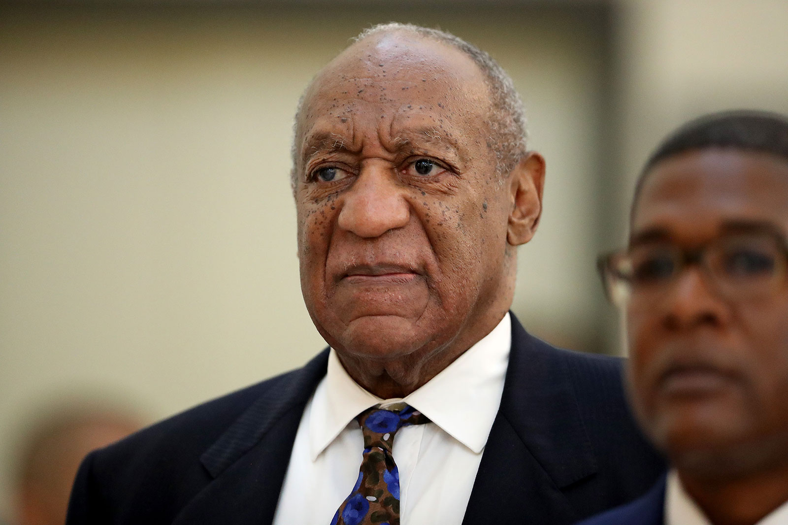 Bill Cosby at Montgomery County Courthouse in Norristown, Pennsylvania, in 2018.