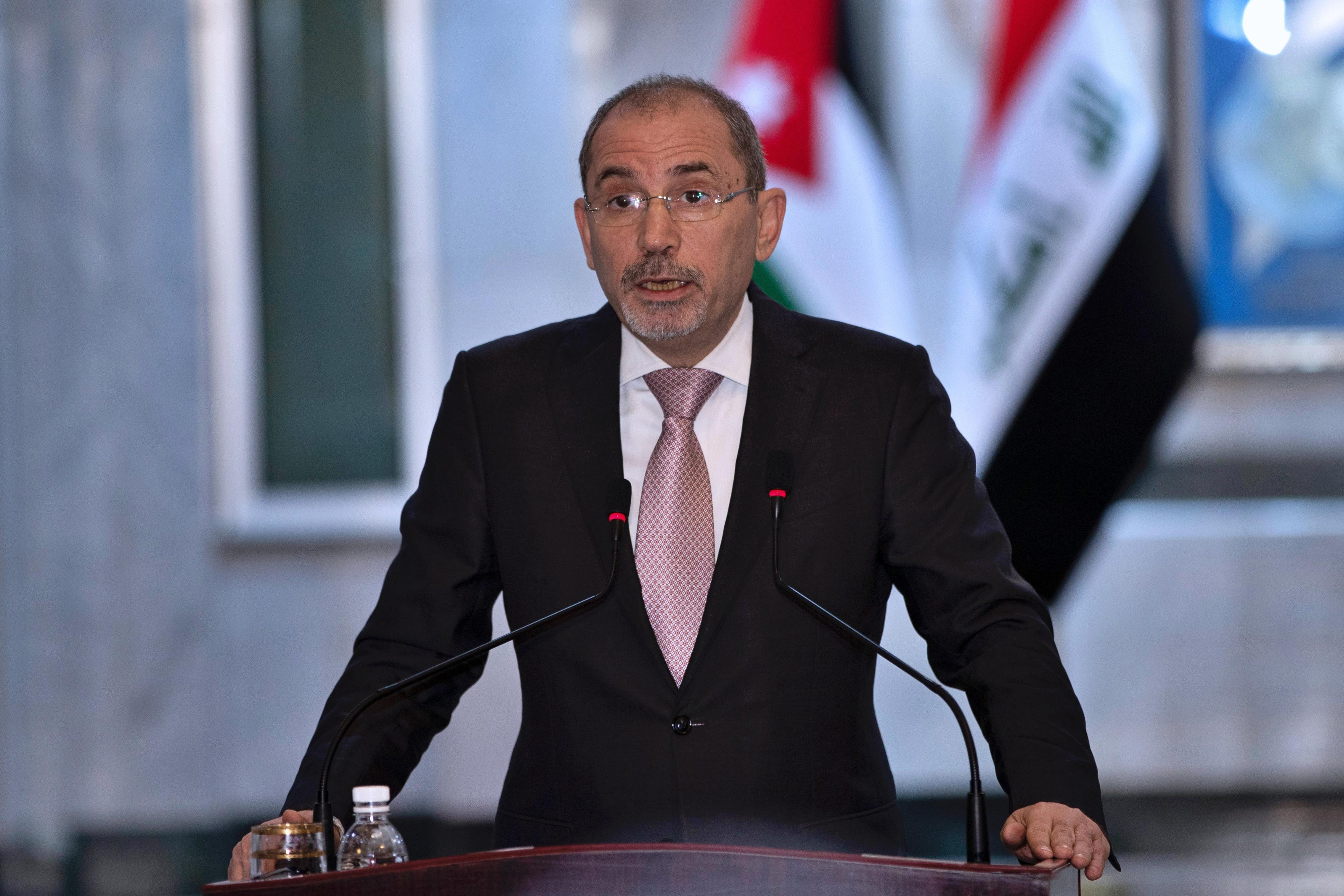 Jordanian Foreign Minister Ayman Safadi.