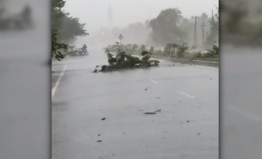 Tropical Cyclone Fani brought sustained winds of 240 kilometers per hour (150 mph) as it slammed into the city of Puri.